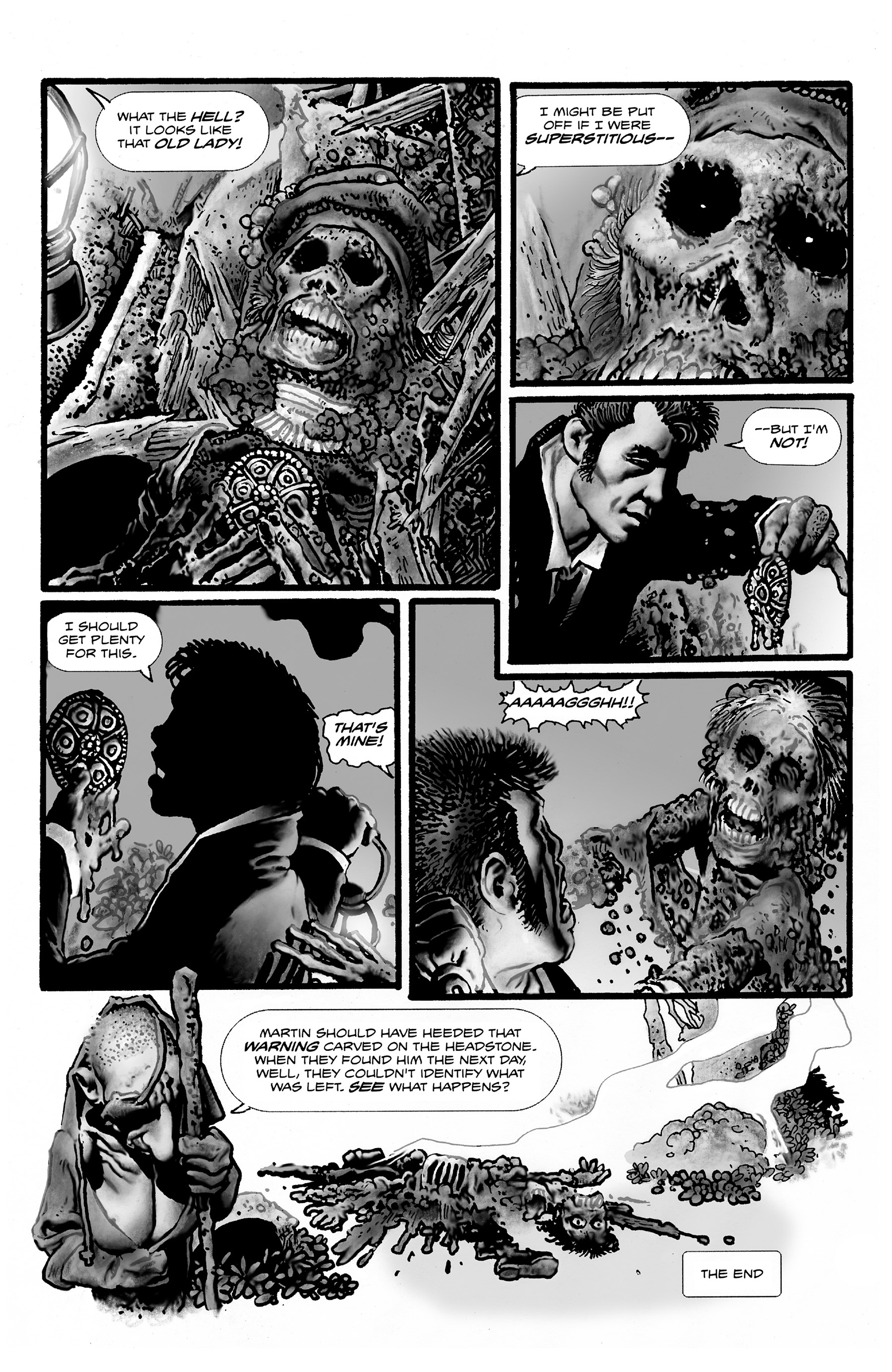 Read online Shadows on the Grave comic -  Issue #2 - 26