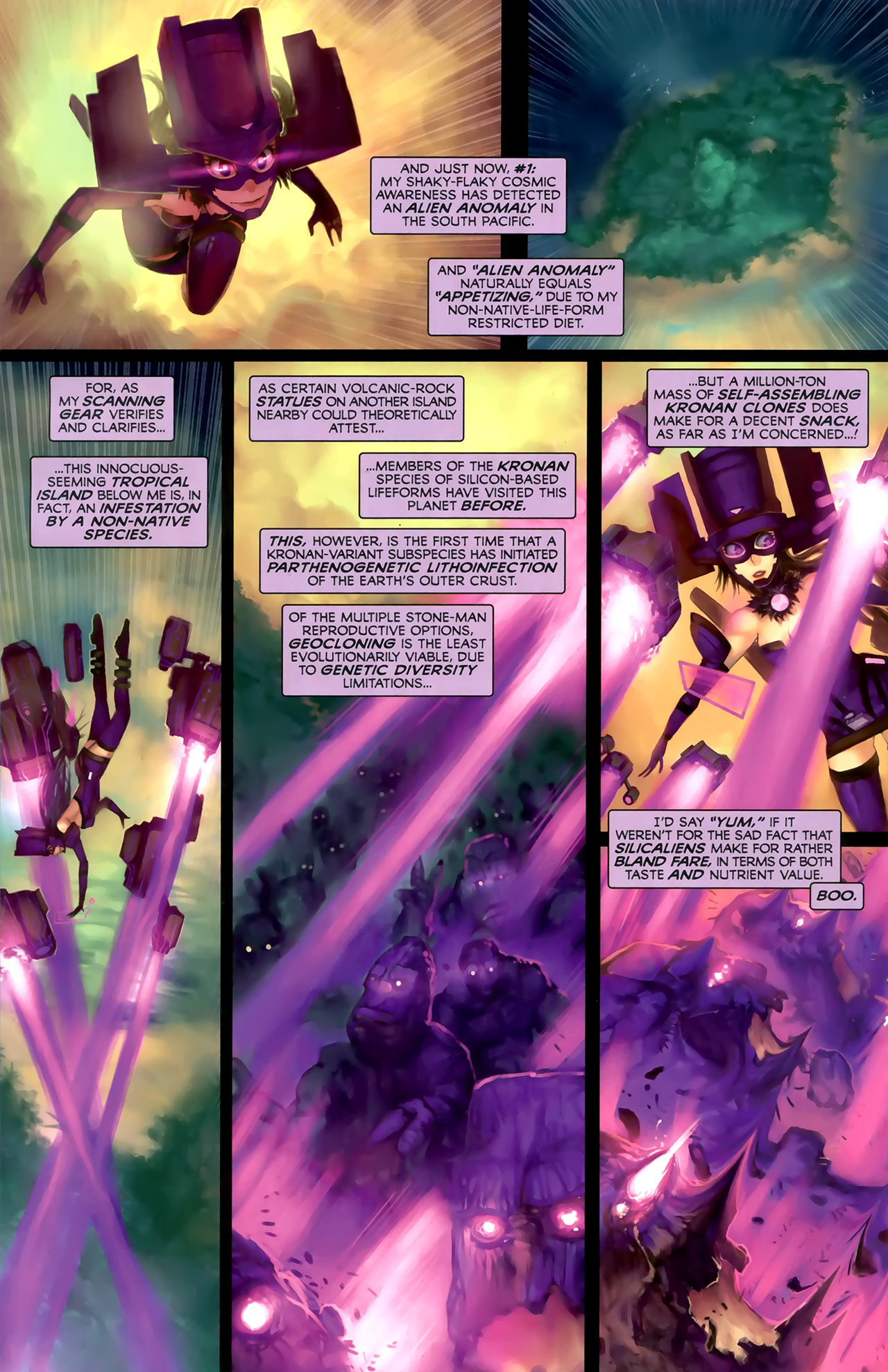Read online Galacta: Daughter of Galactus comic -  Issue # Full - 21