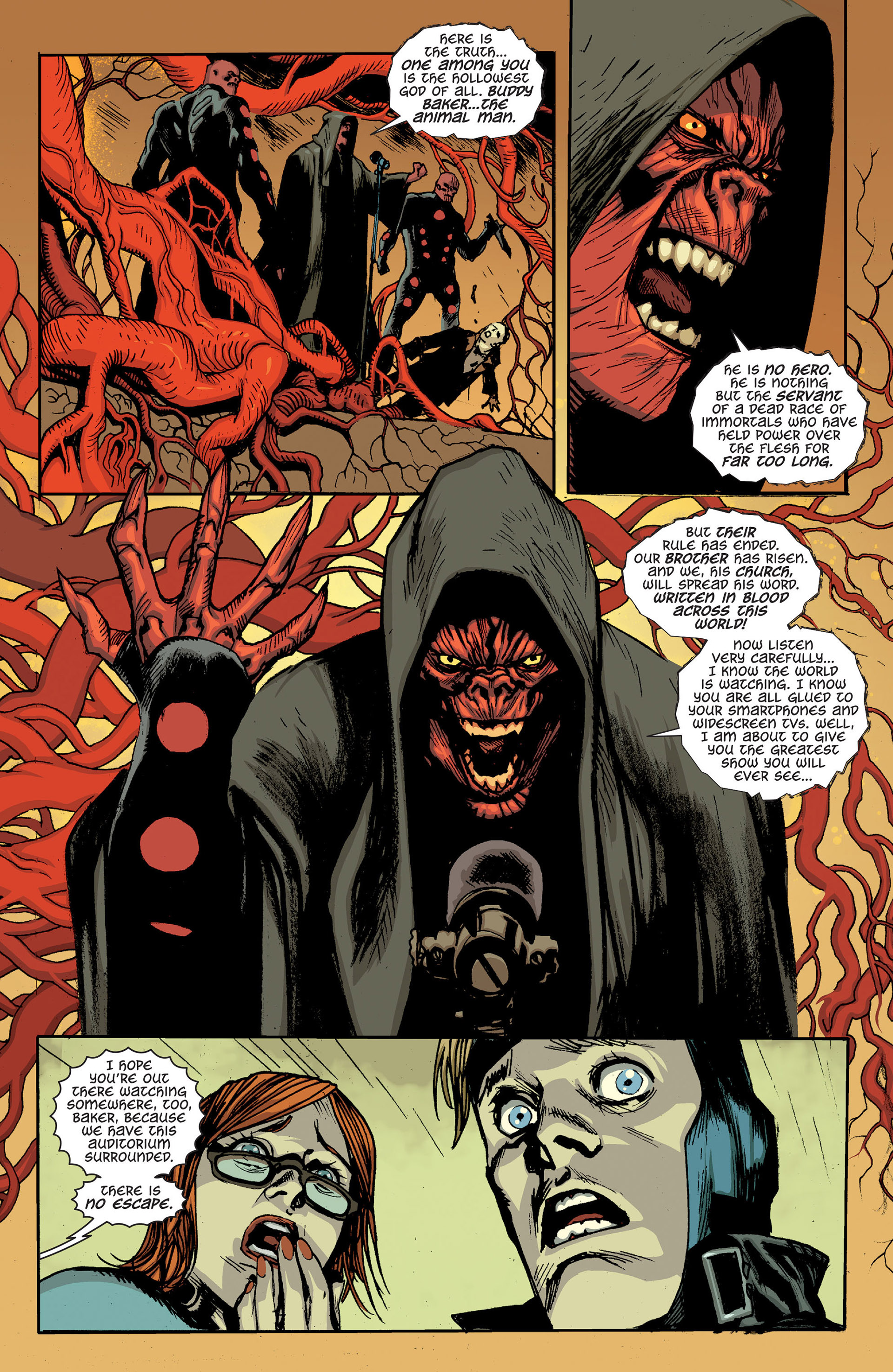 Read online Animal Man (2011) comic -  Issue #24 - 19