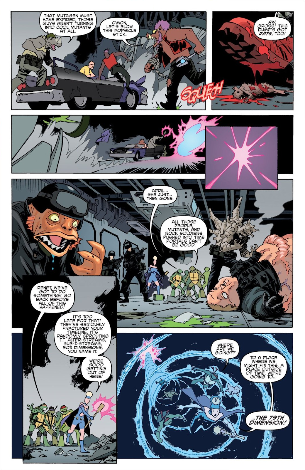 Read online Teenage Mutant Ninja Turtles: The IDW Collection comic -  Issue # TPB 8 (Part 1) - 69
