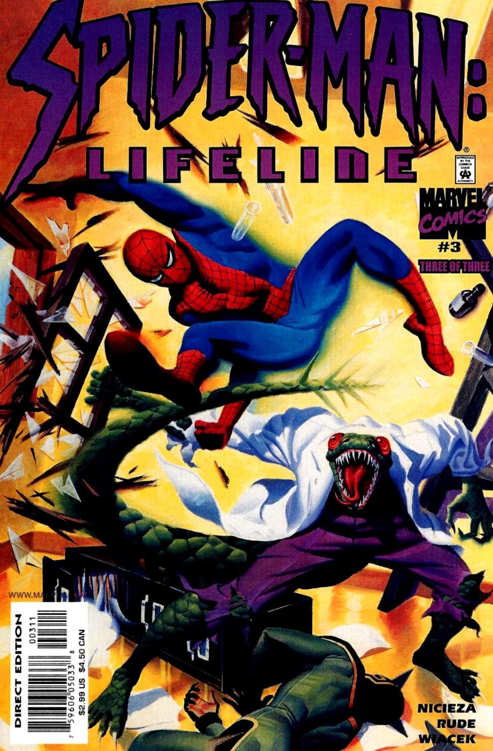 Read online Spider-Man: Lifeline comic -  Issue #3 - 1