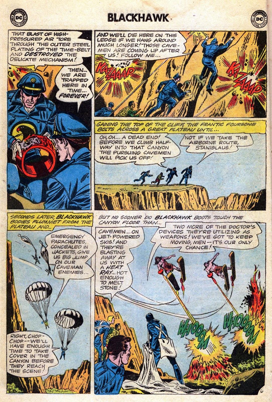 Blackhawk (1957) Issue #189 #82 - English 8