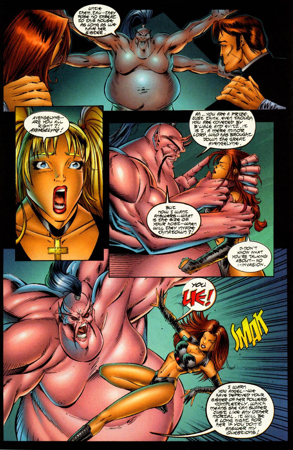 Read online Avengelyne (1996) comic -  Issue #7 - 12