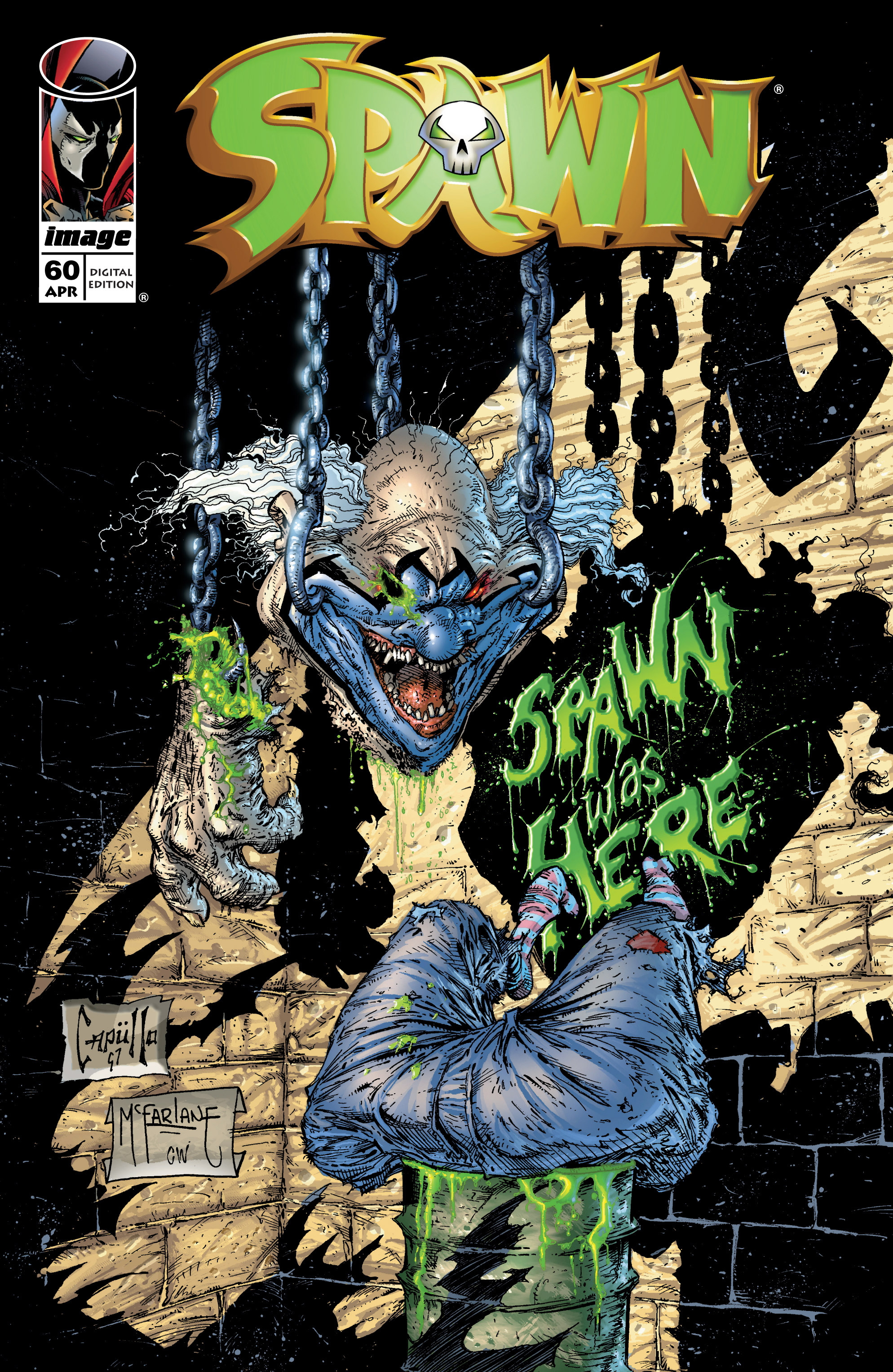 Spawn 60 Page 1