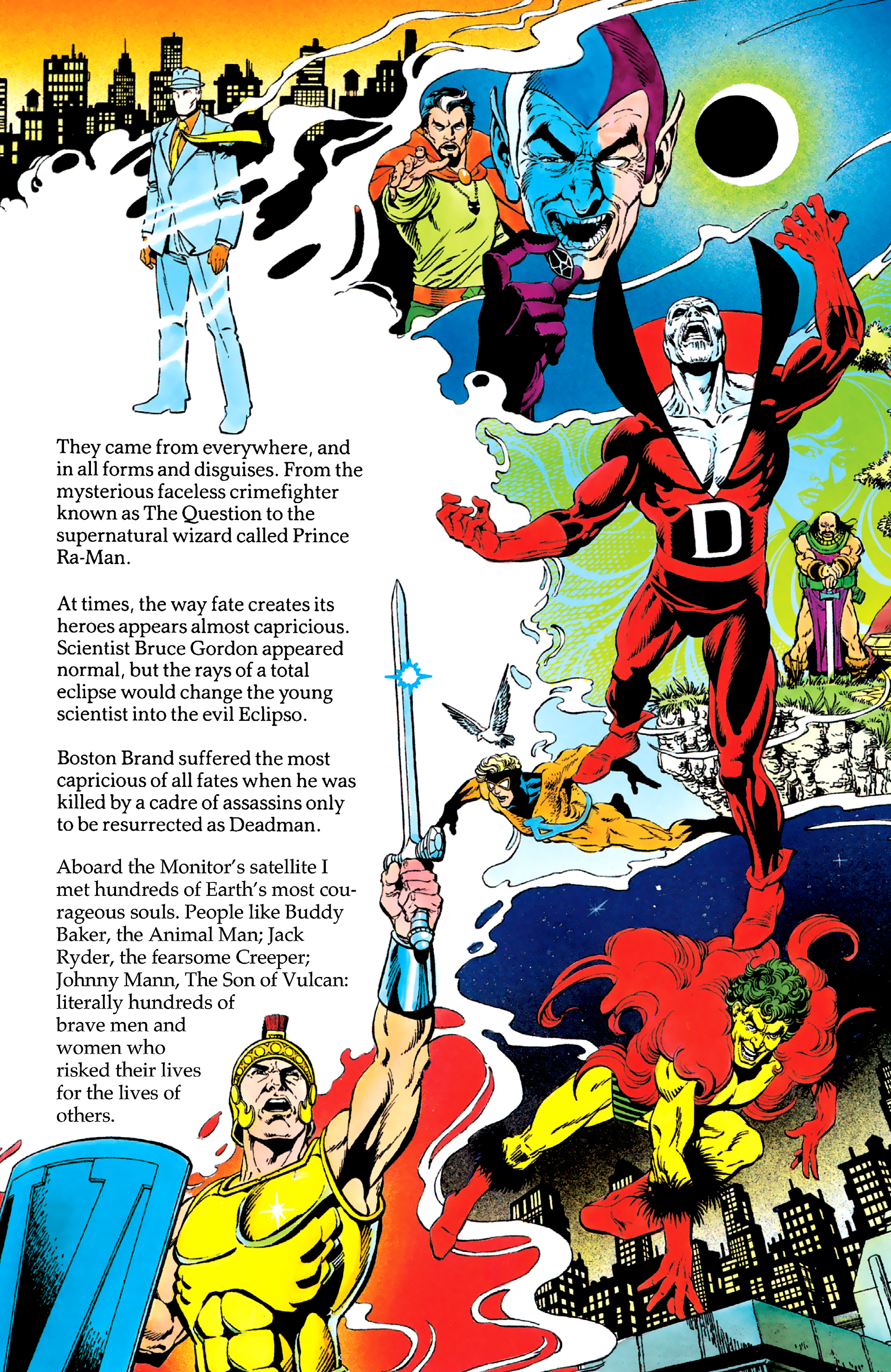 Read online History of the DC Universe comic -  Issue #2 - 22