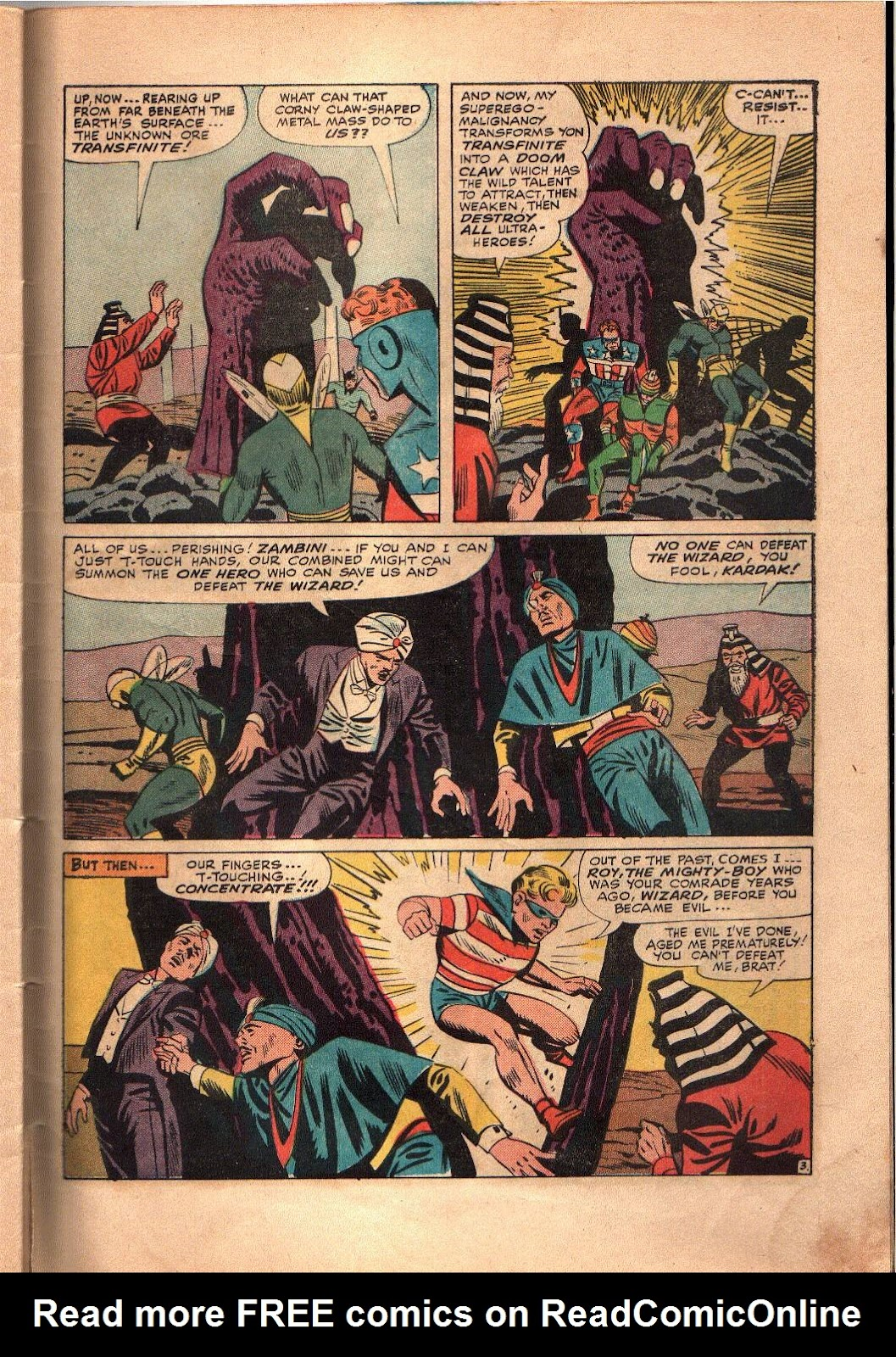 The Mighty Crusaders (1965) Issue #4 #4 - English 23