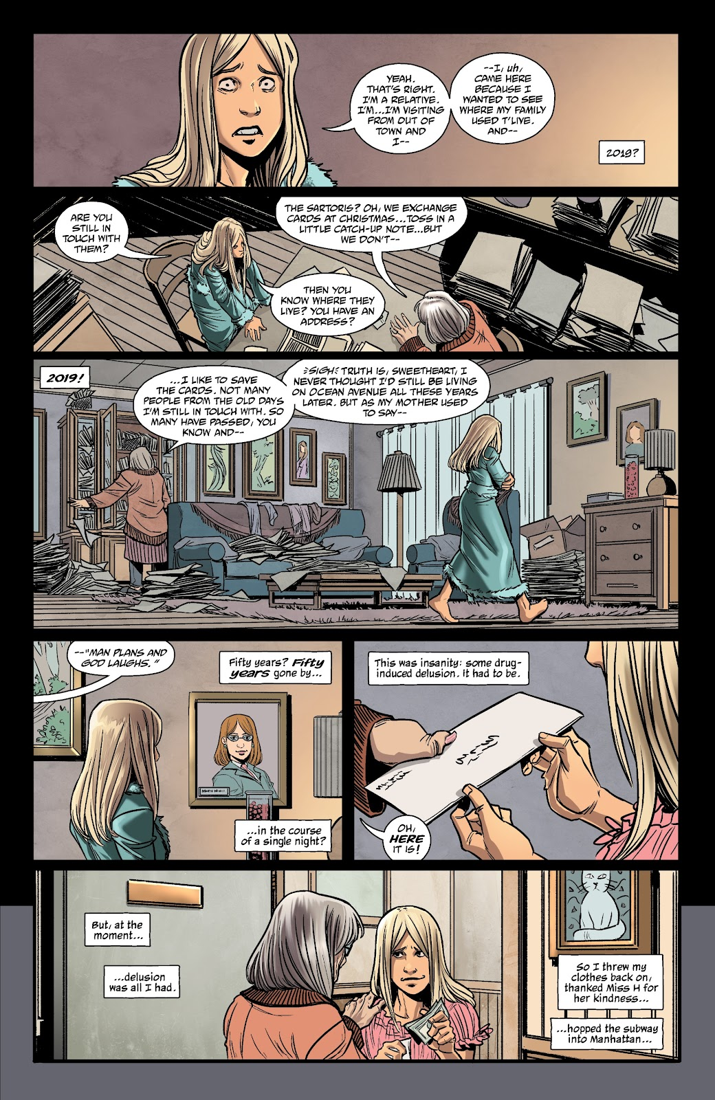 Read online The Girl In The Bay comic -  Issue #1 - 19