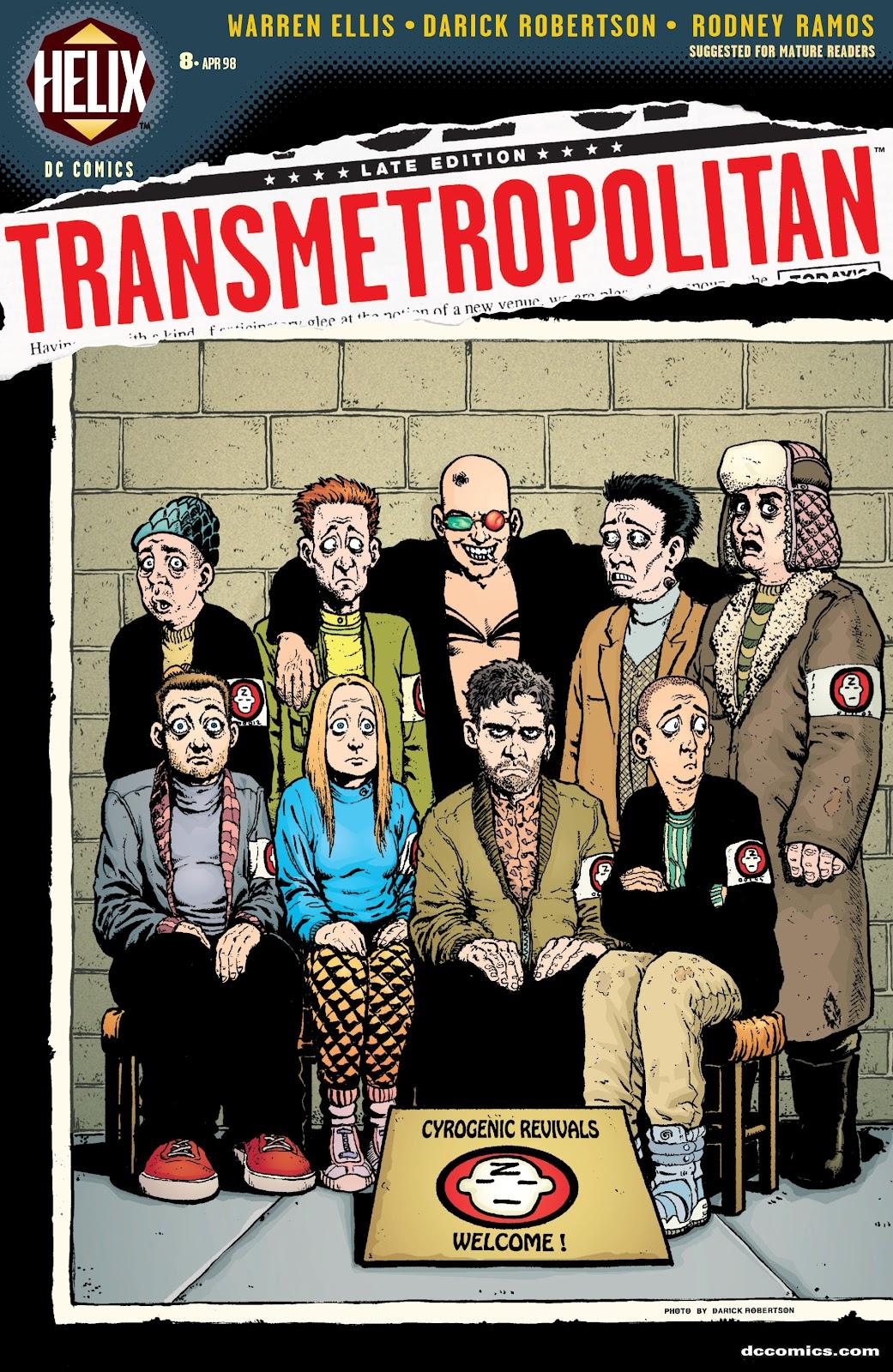 Transmetropolitan 8 Page 1