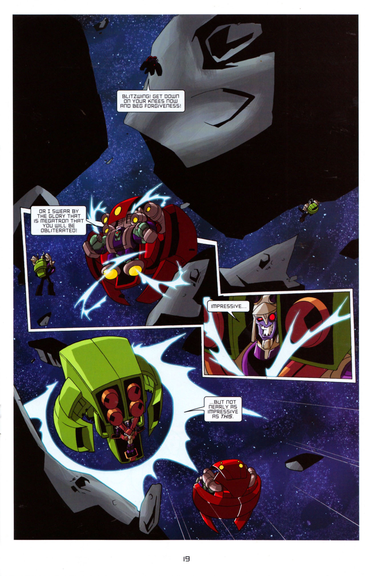 Read online Transformers Animated: The Arrival comic -  Issue #5 - 23