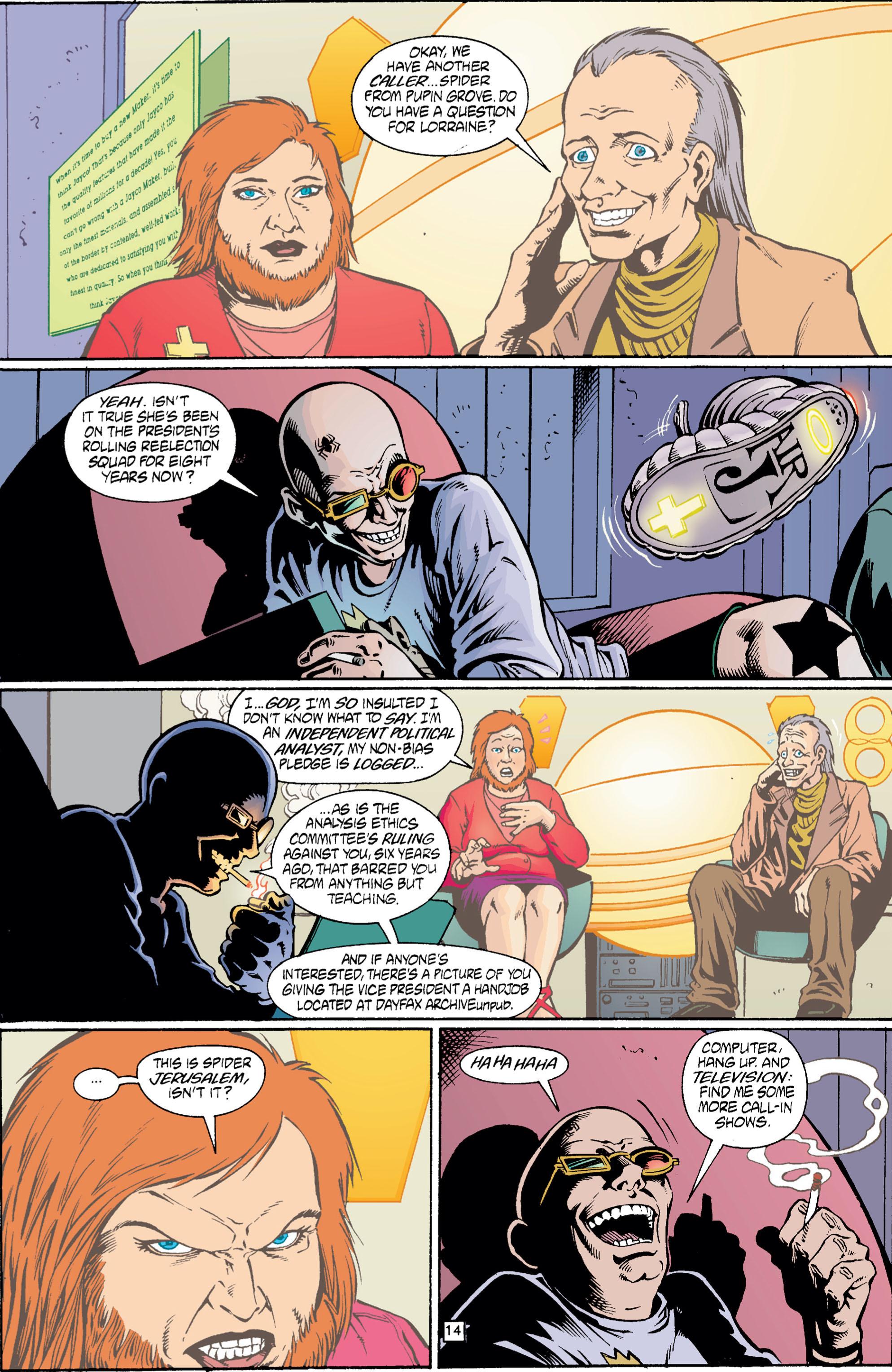 Read online Transmetropolitan comic -  Issue #5 - 15