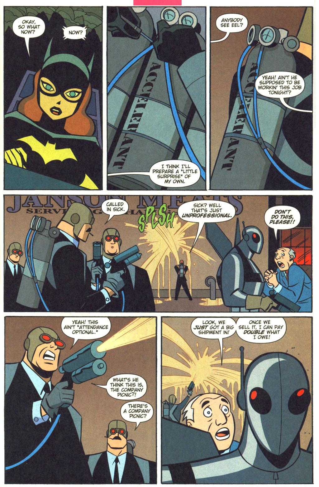 read online batman adventures 2003 comic issue 6