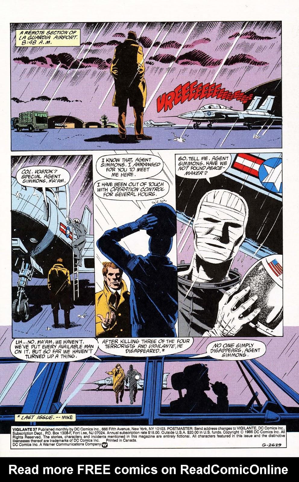 Vigilante (1983) issue 37 - Page 3