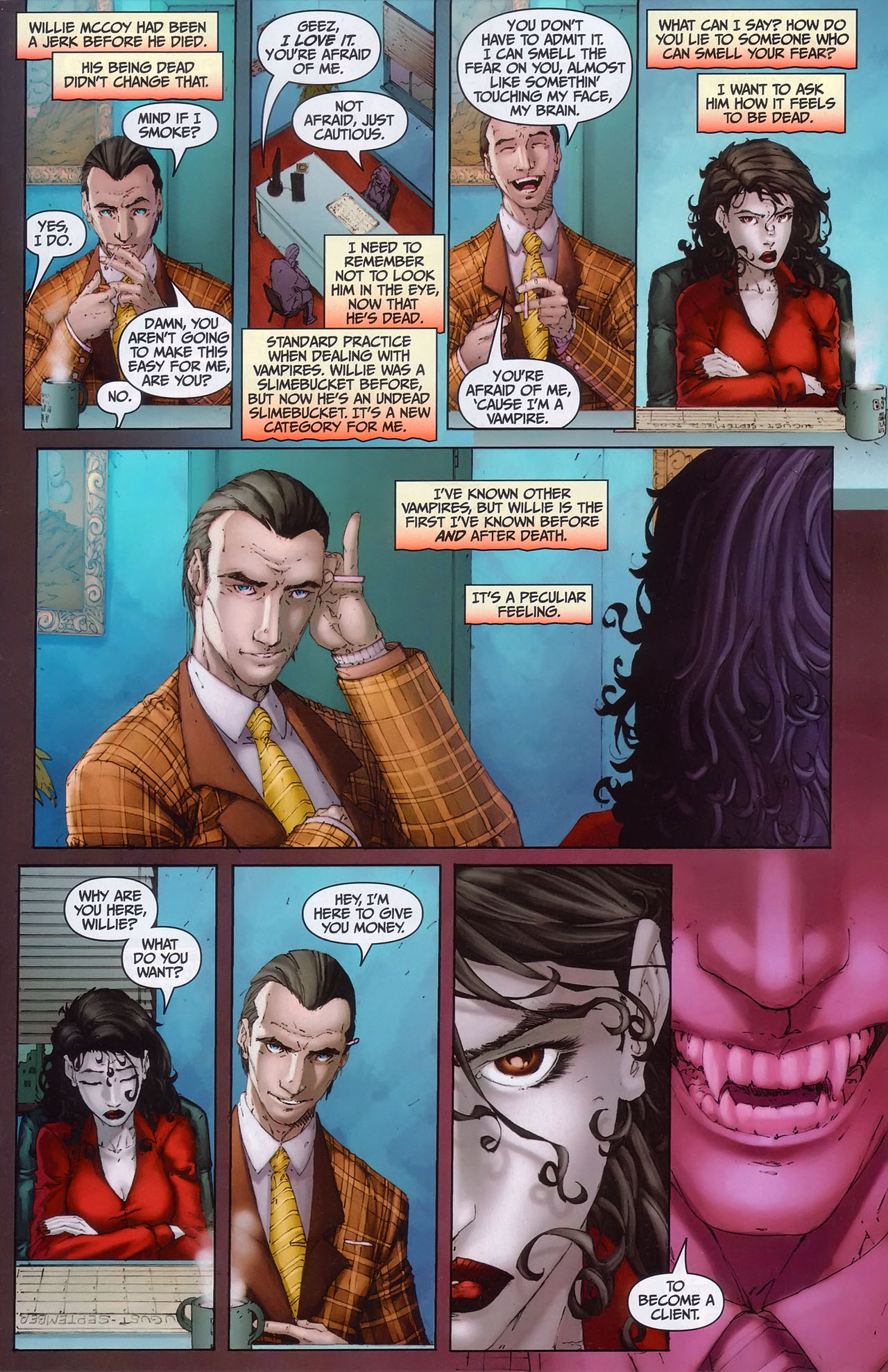 Read online Anita Blake, Vampire Hunter: Guilty Pleasures comic -  Issue #1 - 4