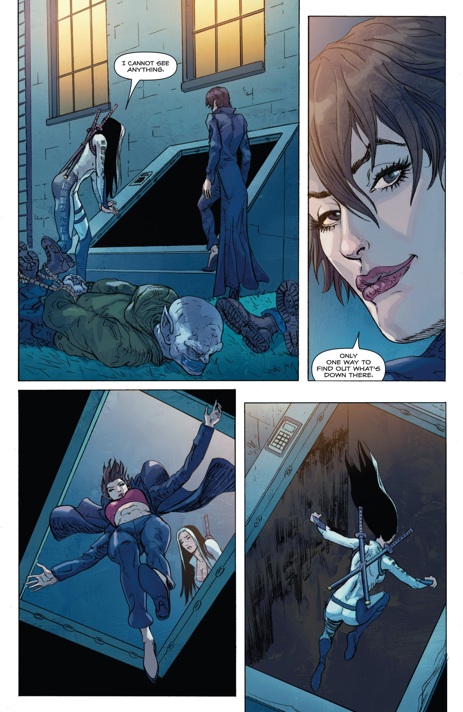 Read online Grimm Fairy Tales presents Inferno: Age of Darkness comic -  Issue # Full - 33