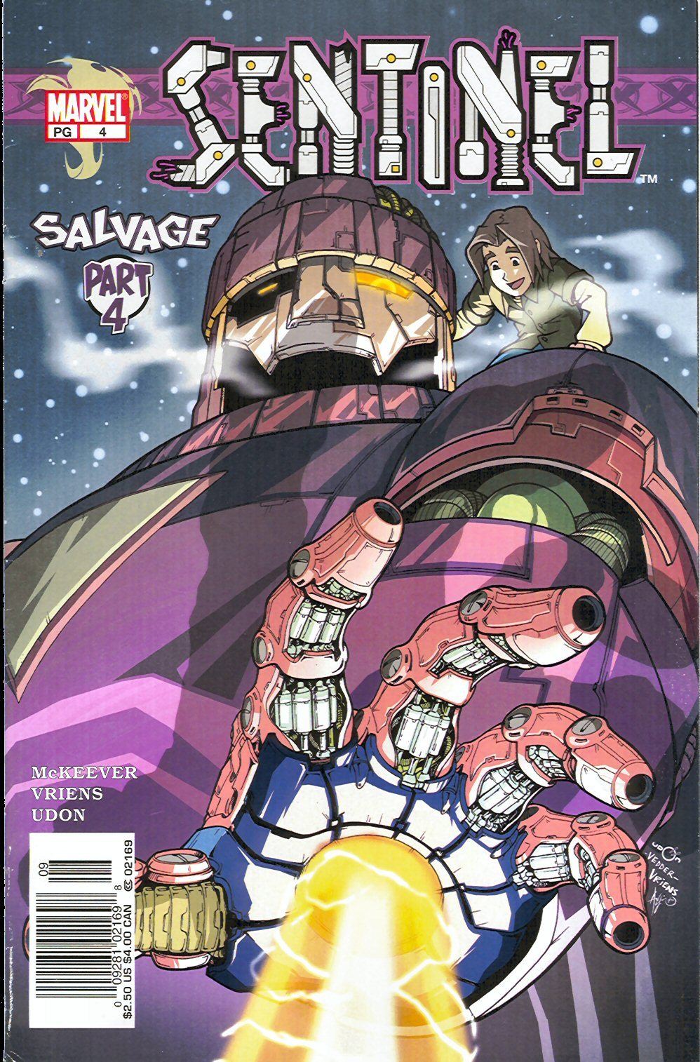 Read online Sentinel comic -  Issue #4 - 2