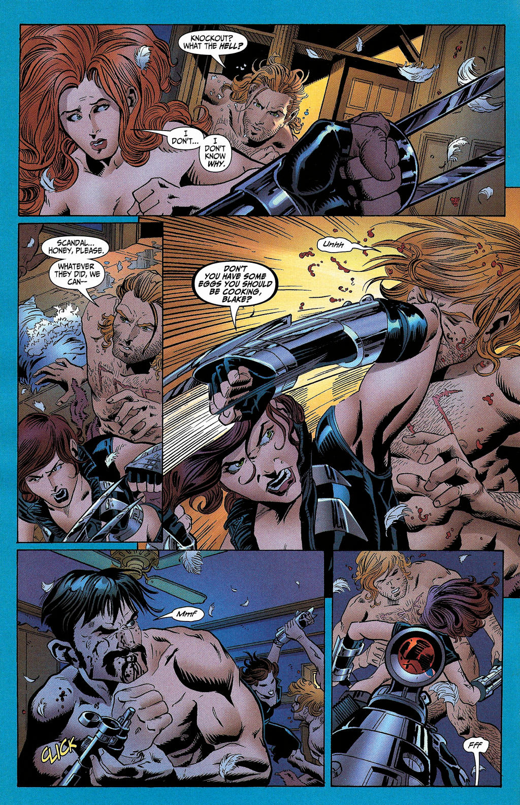 Read online Secret Six (2006) comic -  Issue #5 - 8