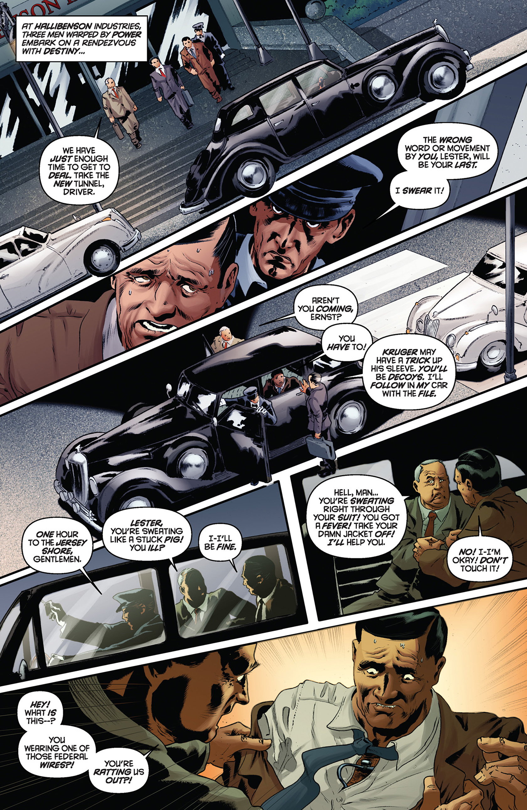 Read online Justice, Inc. comic -  Issue #5 - 22