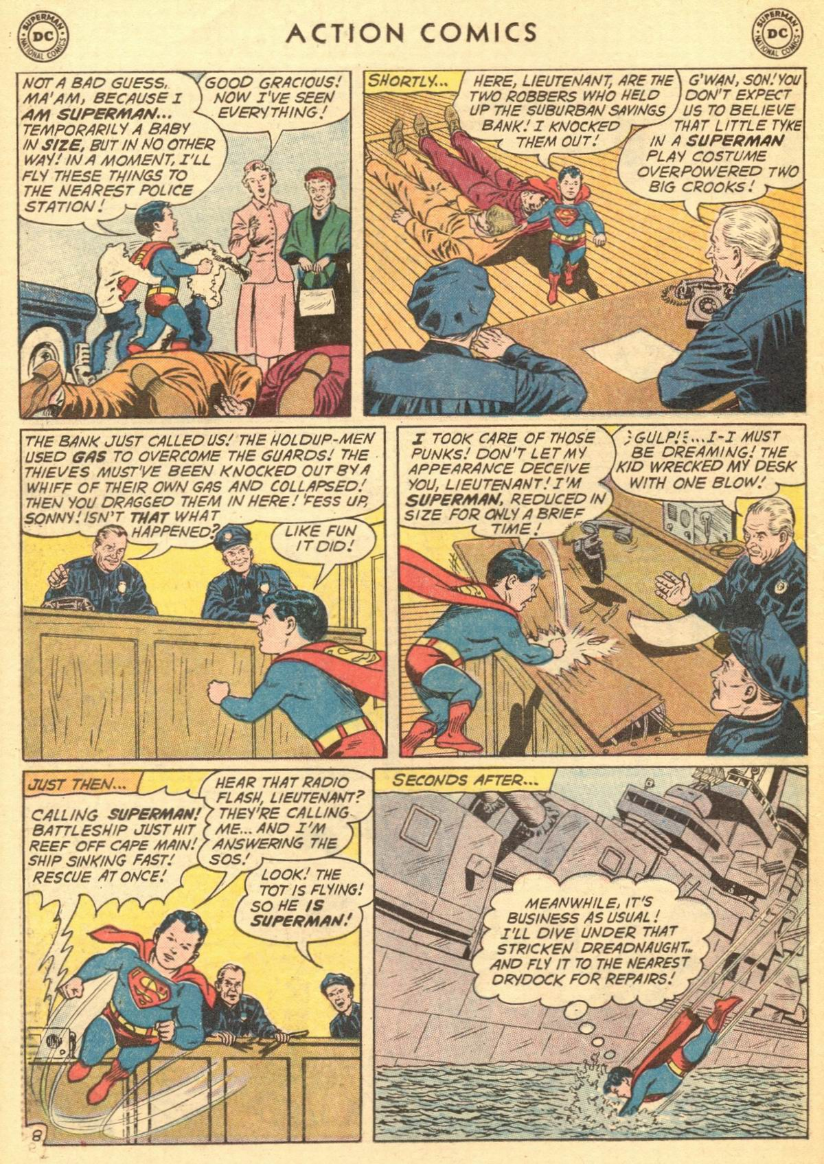 Read online Action Comics (1938) comic -  Issue #284 - 10