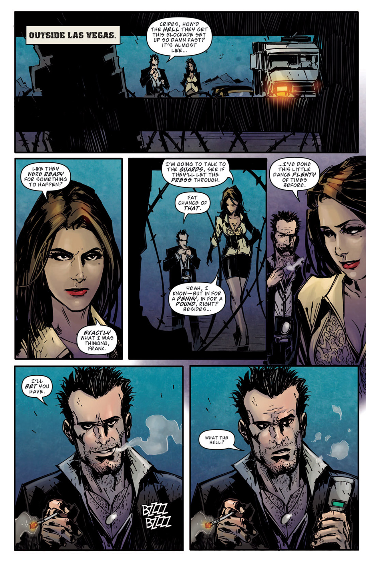 Read online Dead Rising: Road to Fortune comic -  Issue # TPB - 85