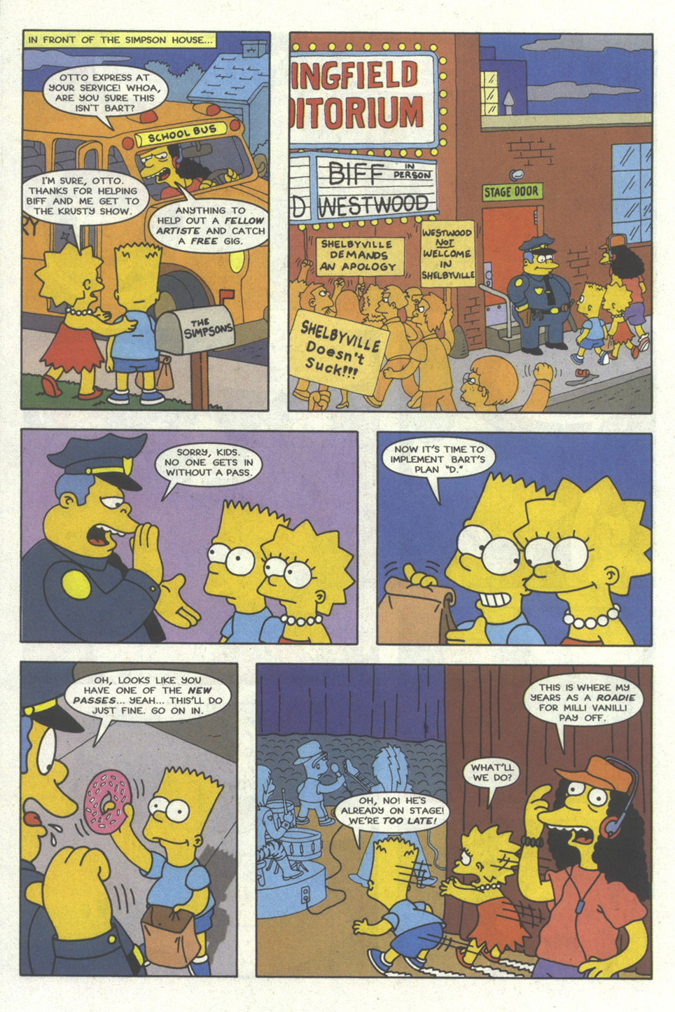 Read online Simpsons Comics comic -  Issue #20 - 21