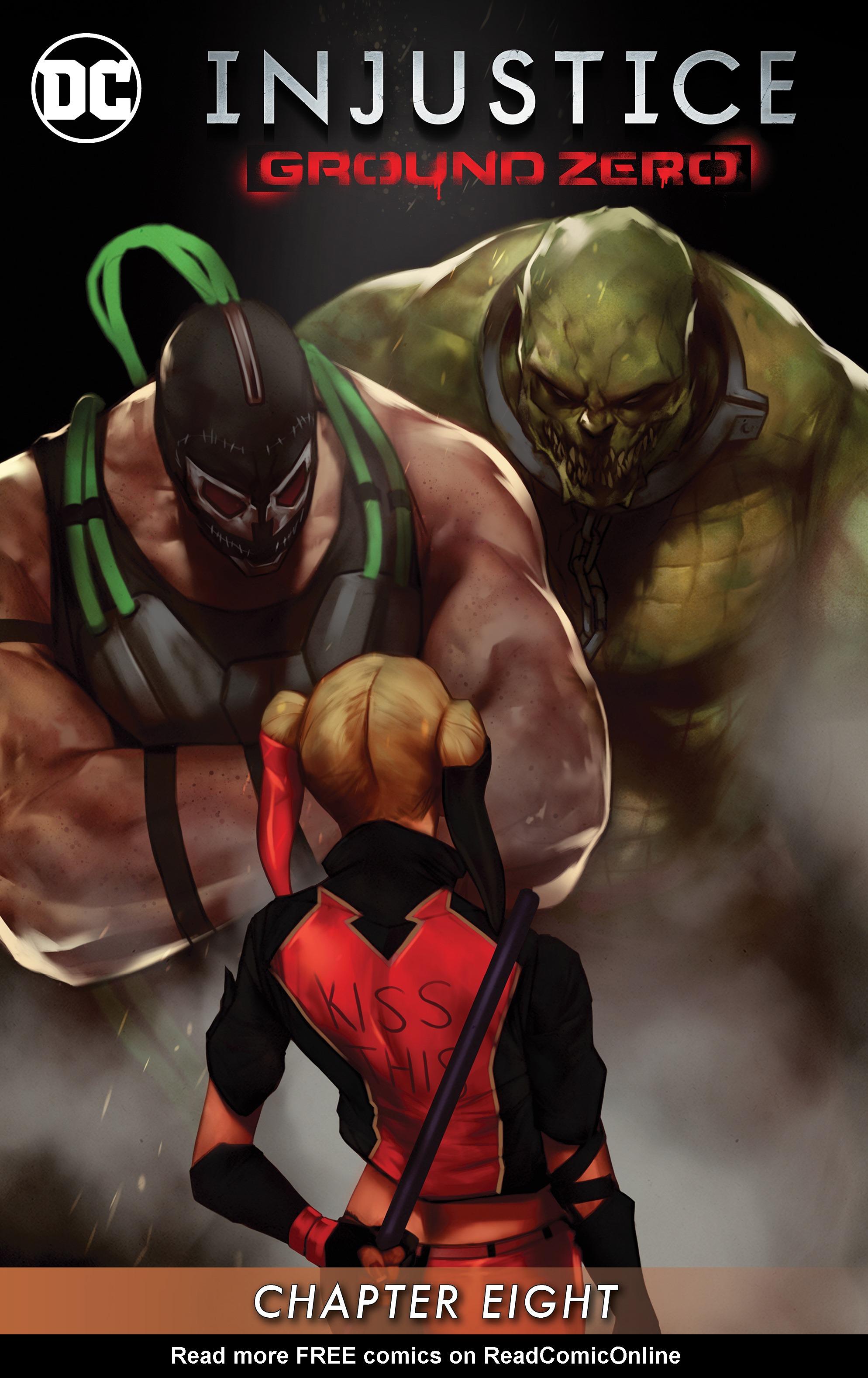 Read online Injustice: Ground Zero comic -  Issue #8 - 2