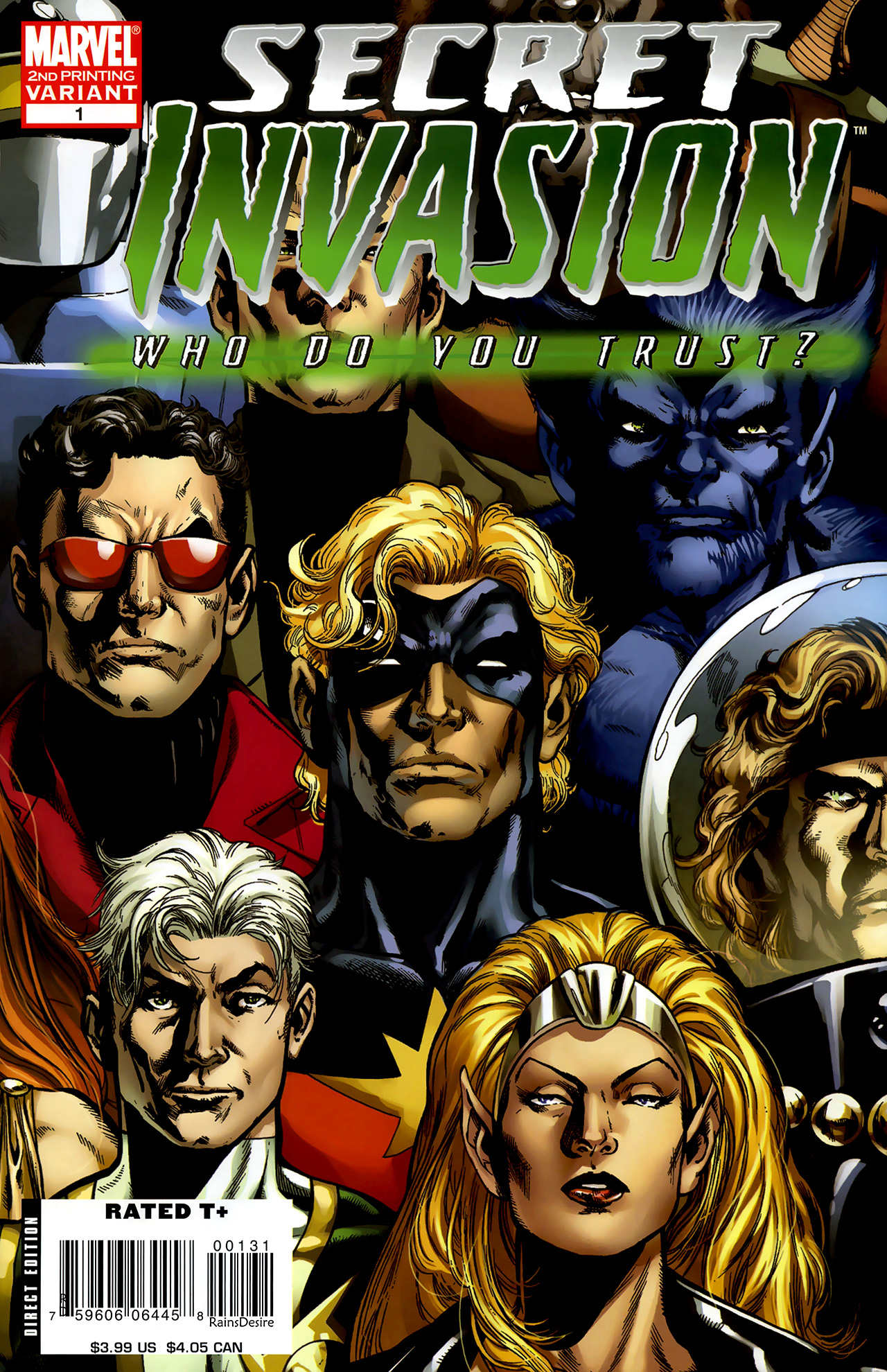Read online Secret Invasion: Who Do You Trust? comic -  Issue # Full - 3