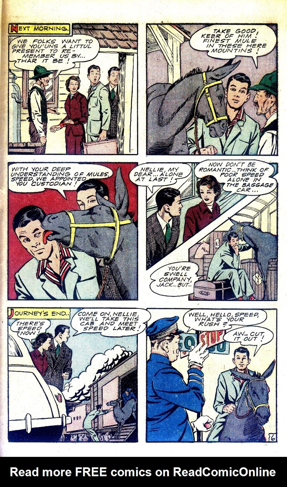 Read online Nellie The Nurse (1945) comic -  Issue #2 - 39