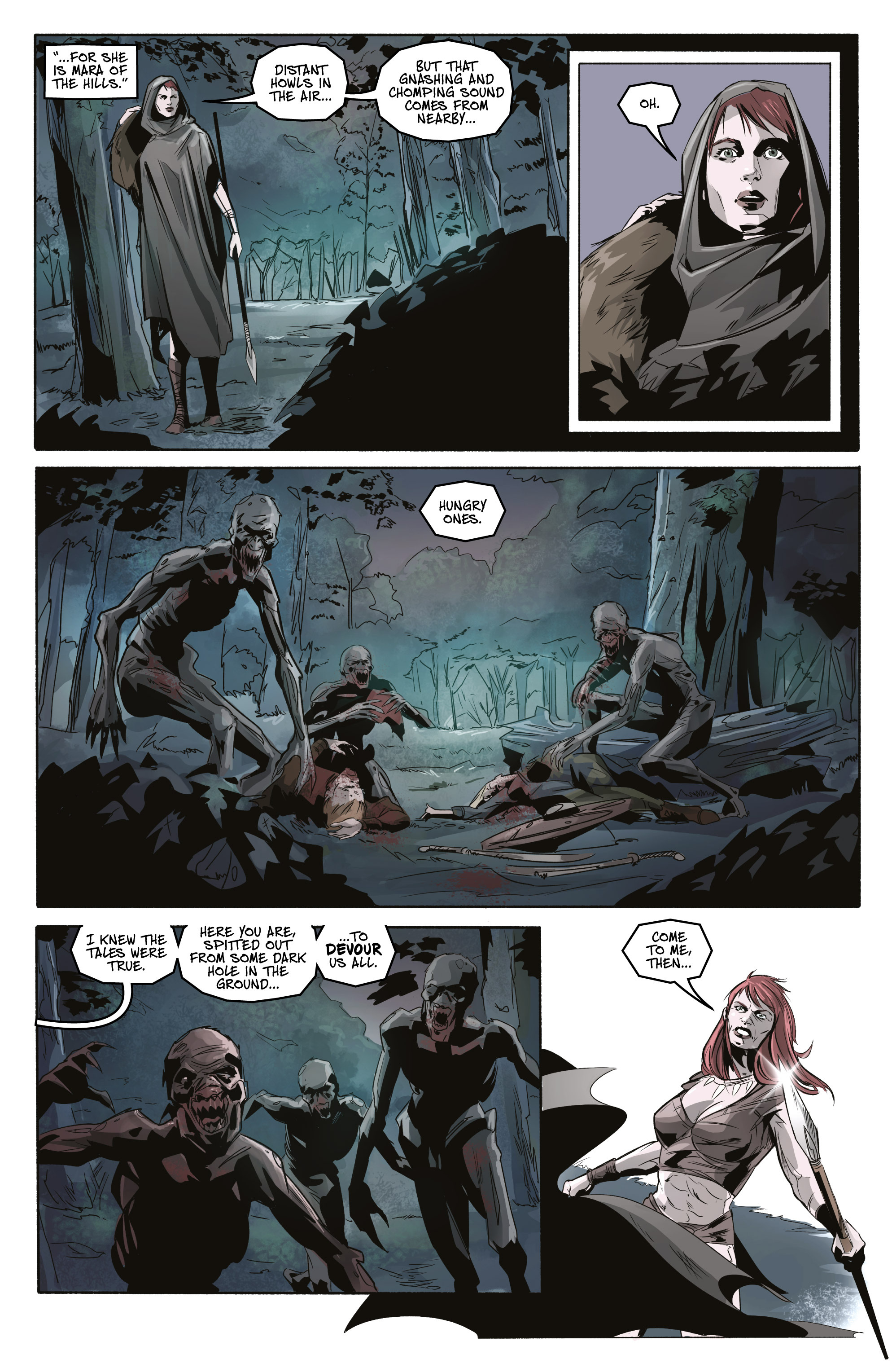 Read online Ghost Wolf comic -  Issue #3 - 22
