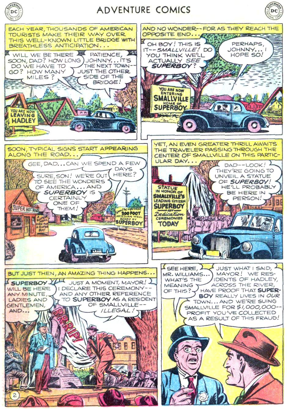 Read online Adventure Comics (1938) comic -  Issue #166 - 3