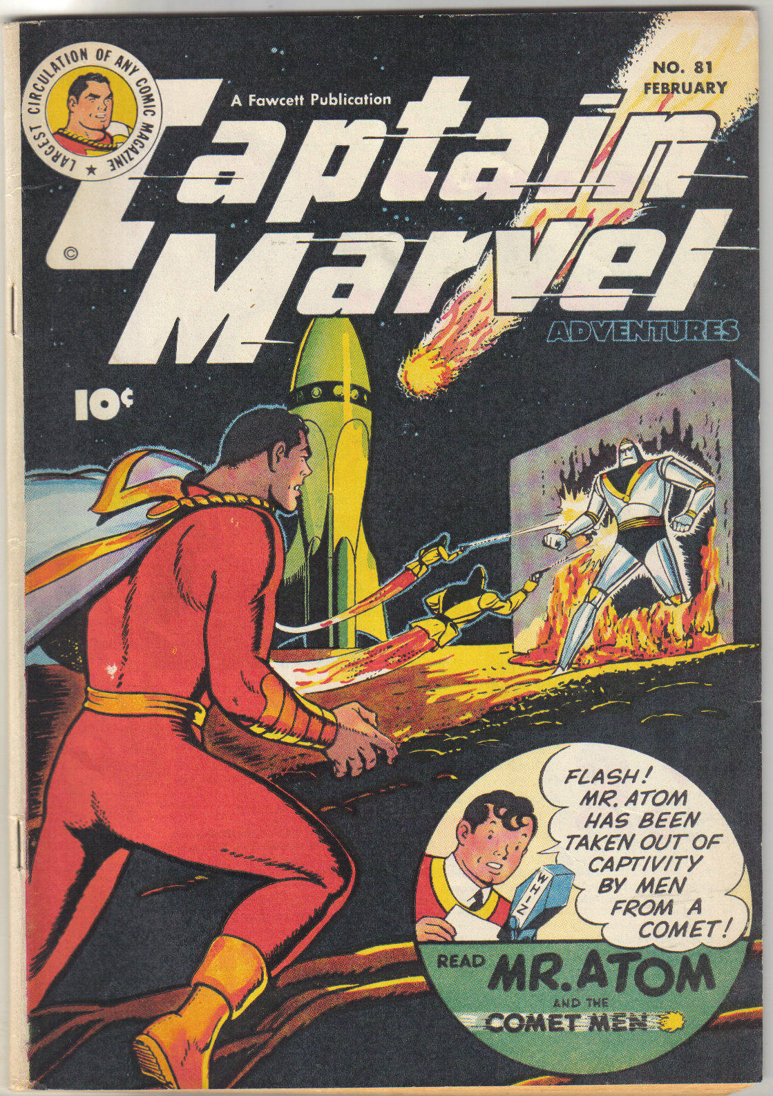 Captain Marvel Adventures 81 Page 1