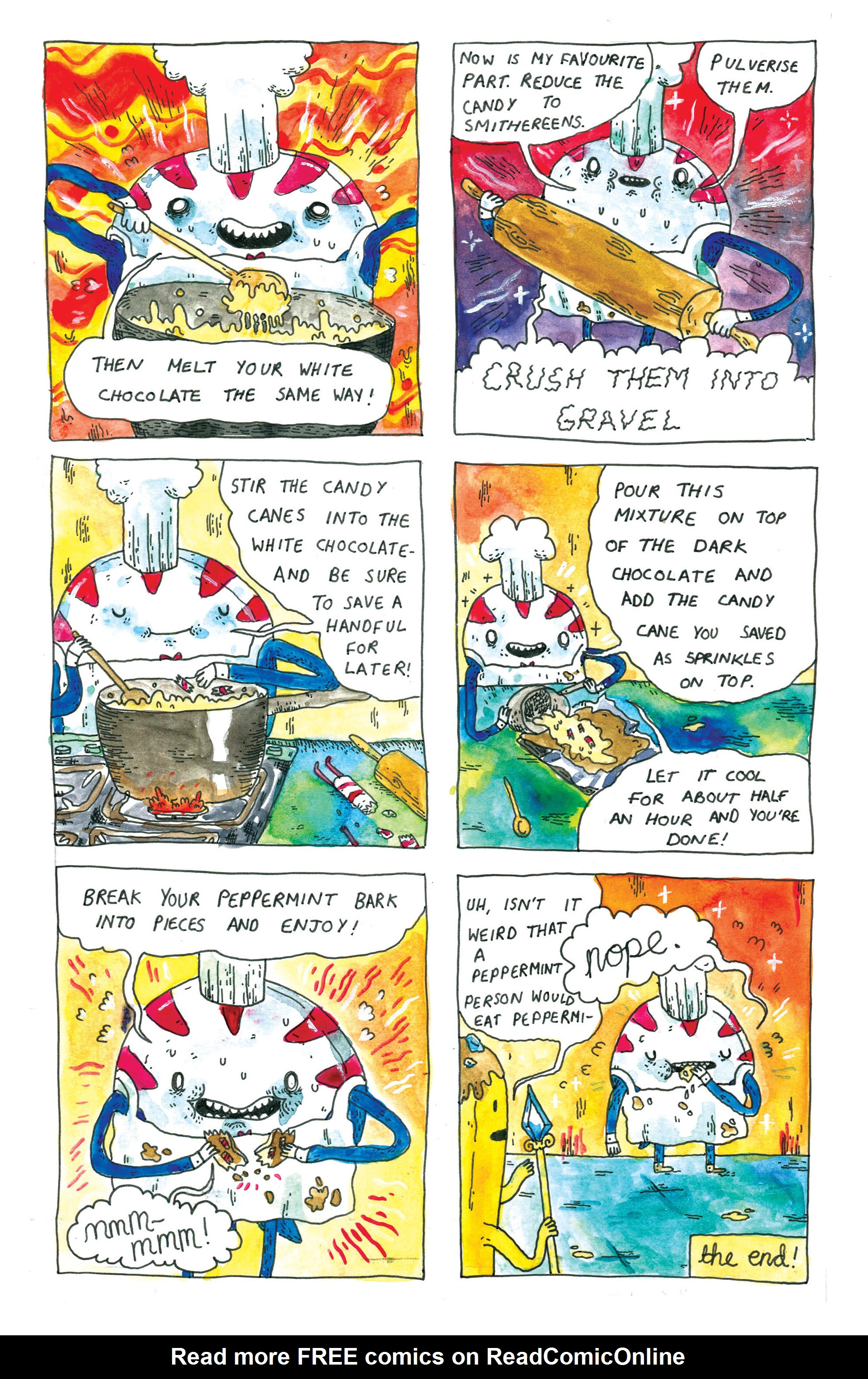 Read online Adventure Time comic -  Issue #30 - 7