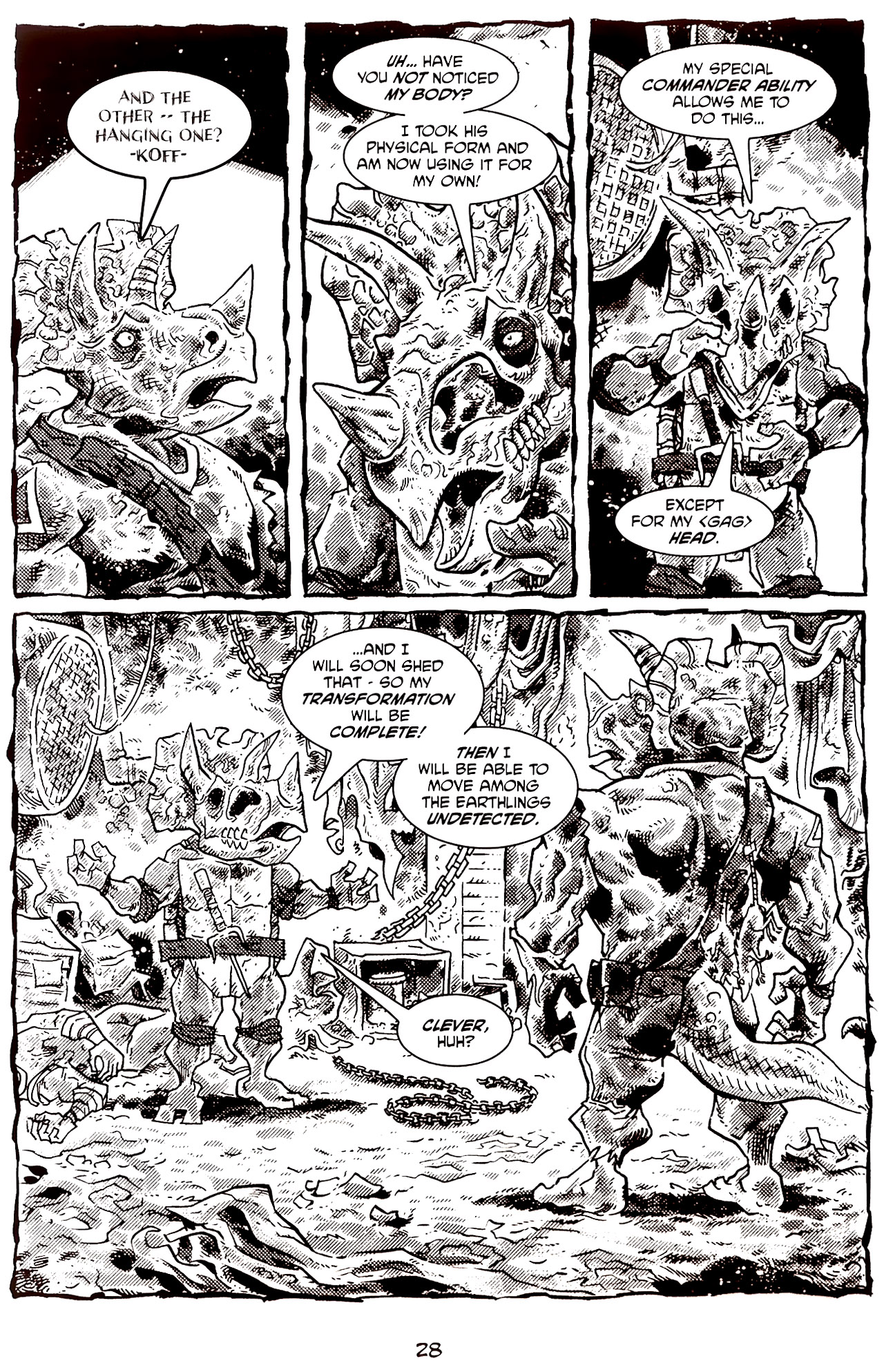 Read online Tales of the TMNT comic -  Issue #70 - 33