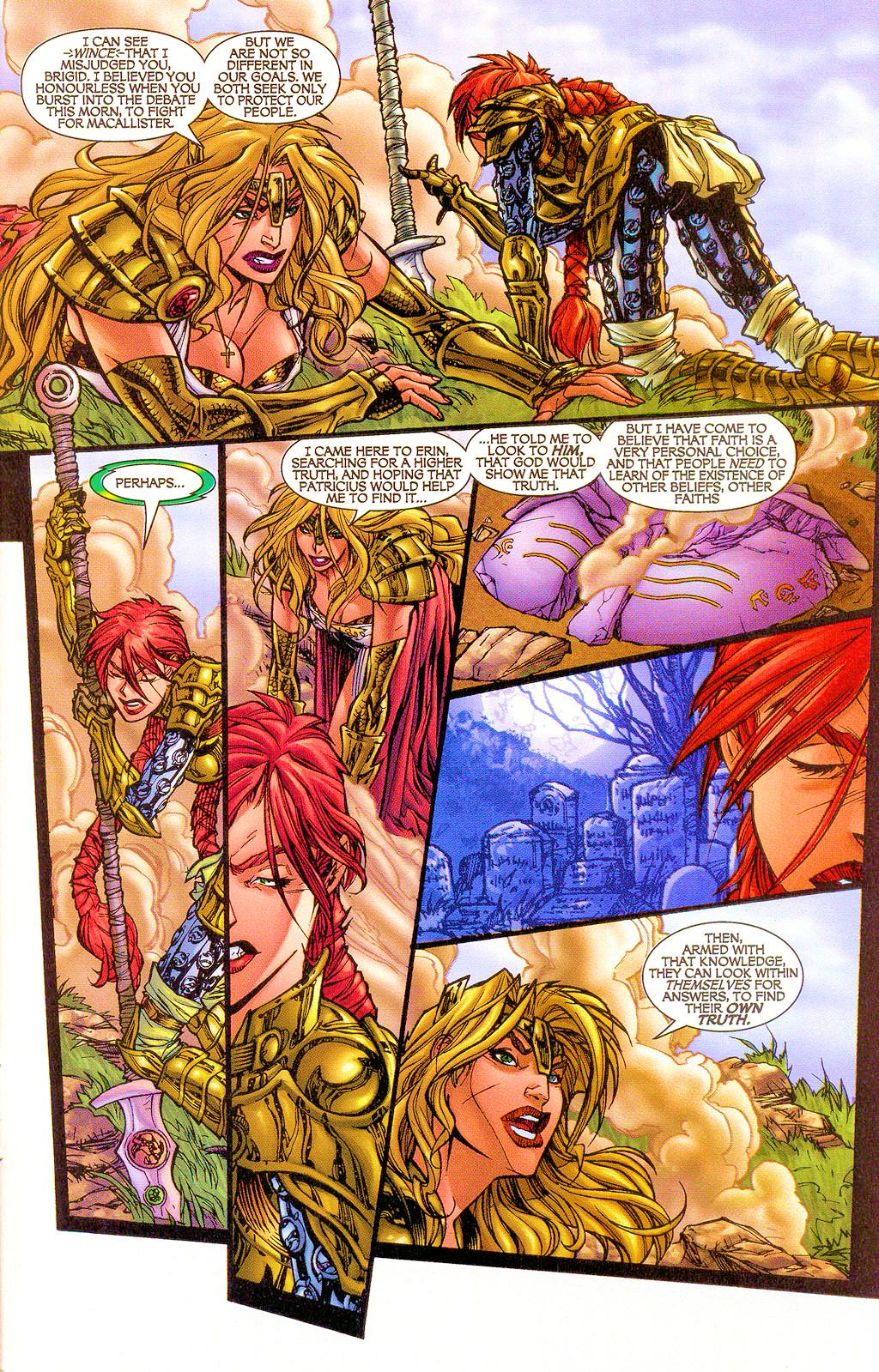 Read online Lady Pendragon / More Than Mortal comic -  Issue #1 - 27