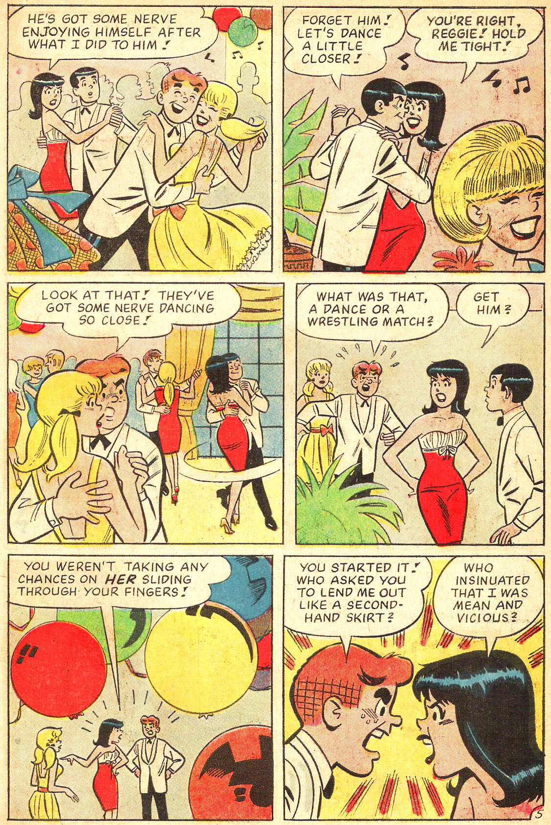 Read online Archie's Girls Betty and Veronica comic -  Issue #134 - 7