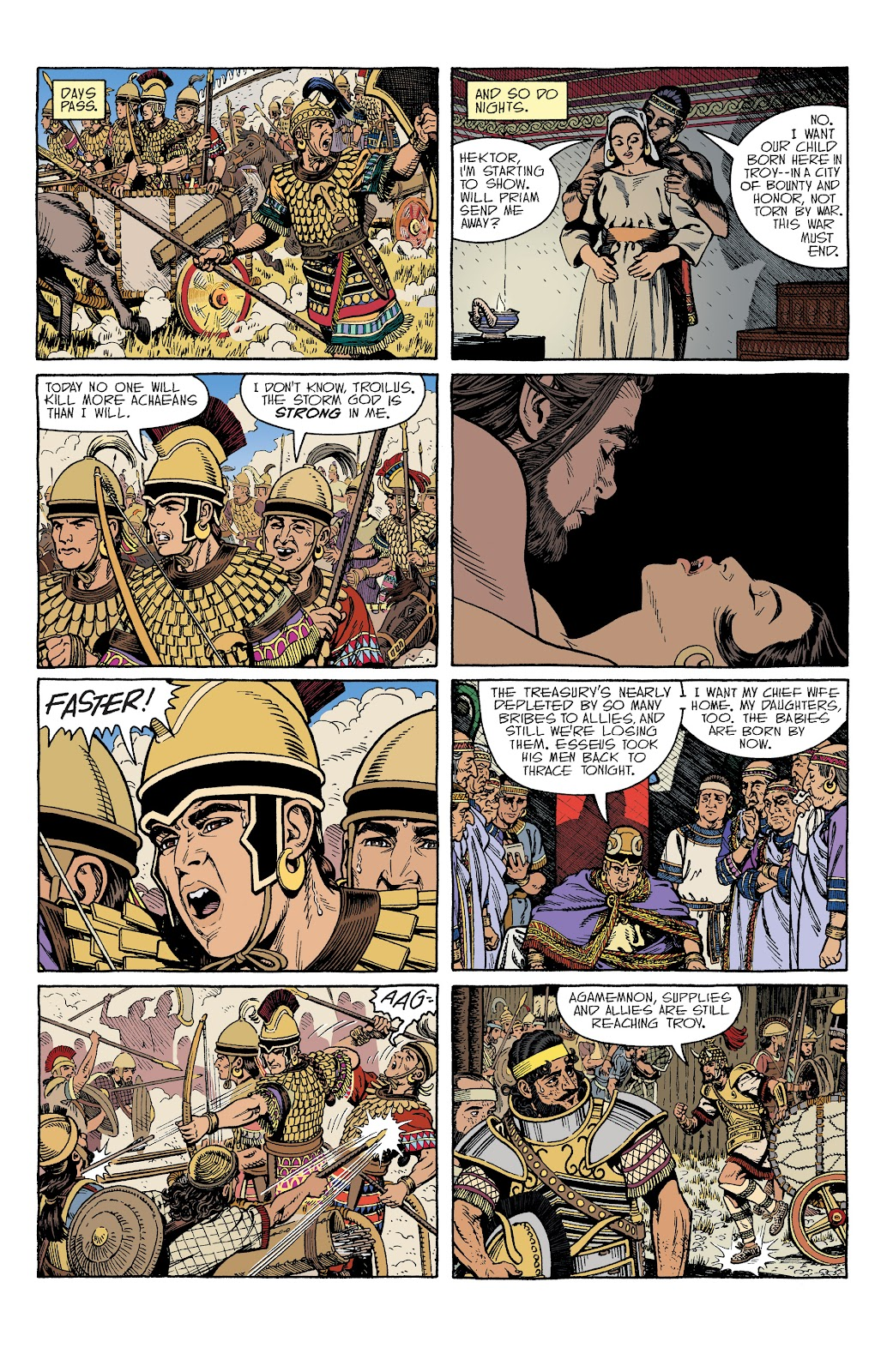Read online Age of Bronze comic -  Issue #34 - 3