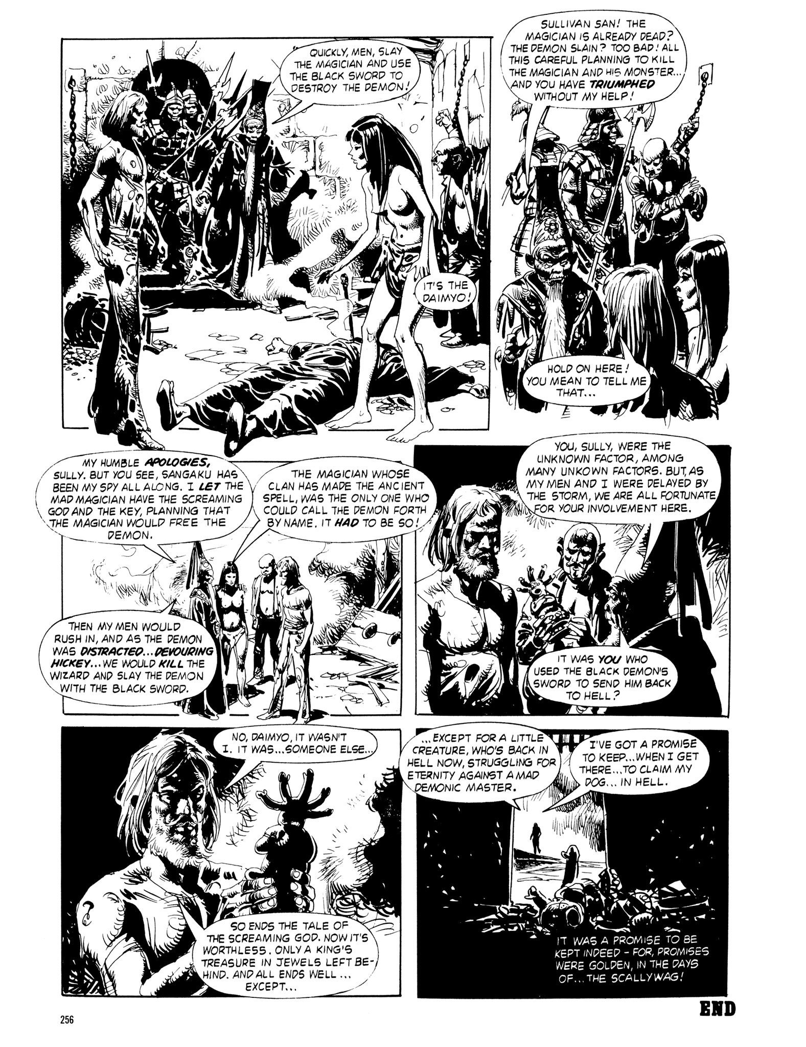 Read online Eerie Archives comic -  Issue # TPB 18 - 253