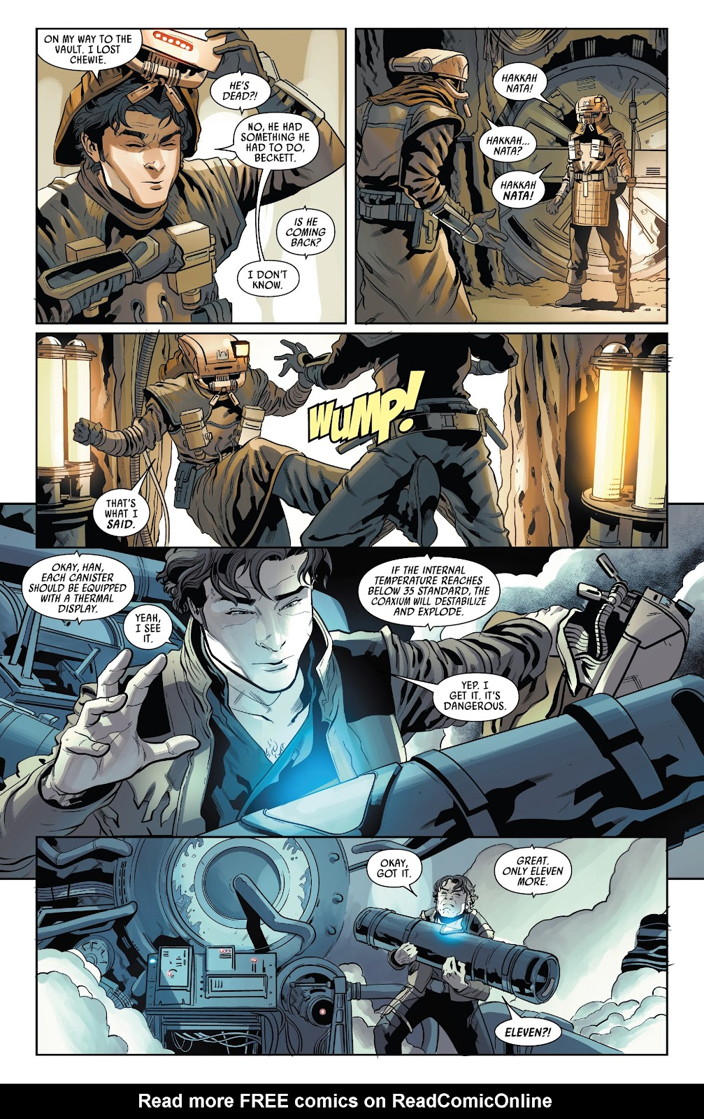 Read online Solo: A Star Wars Story Adaptation comic -  Issue #4 - 14