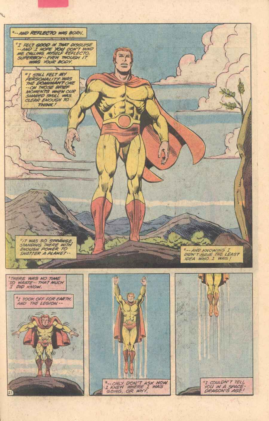Legion of Super-Heroes (1980) 282 Page 21