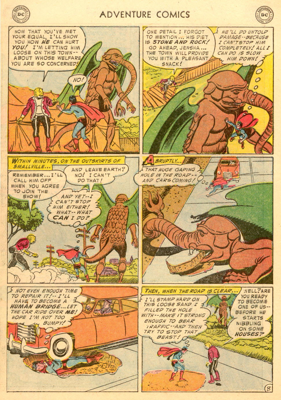 Read online Adventure Comics (1938) comic -  Issue #198 - 10
