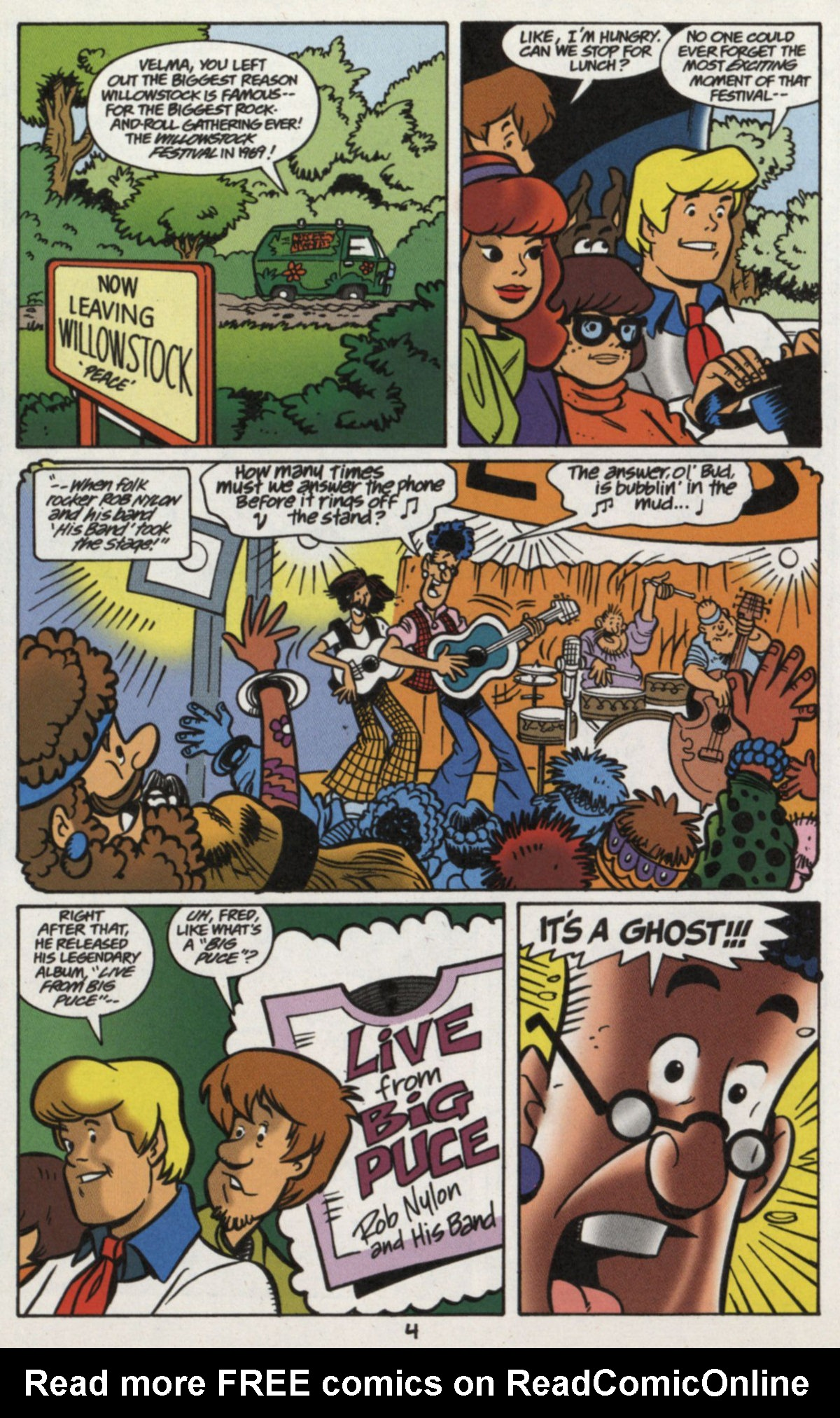 Read online Scooby-Doo (1997) comic -  Issue #16 - 3
