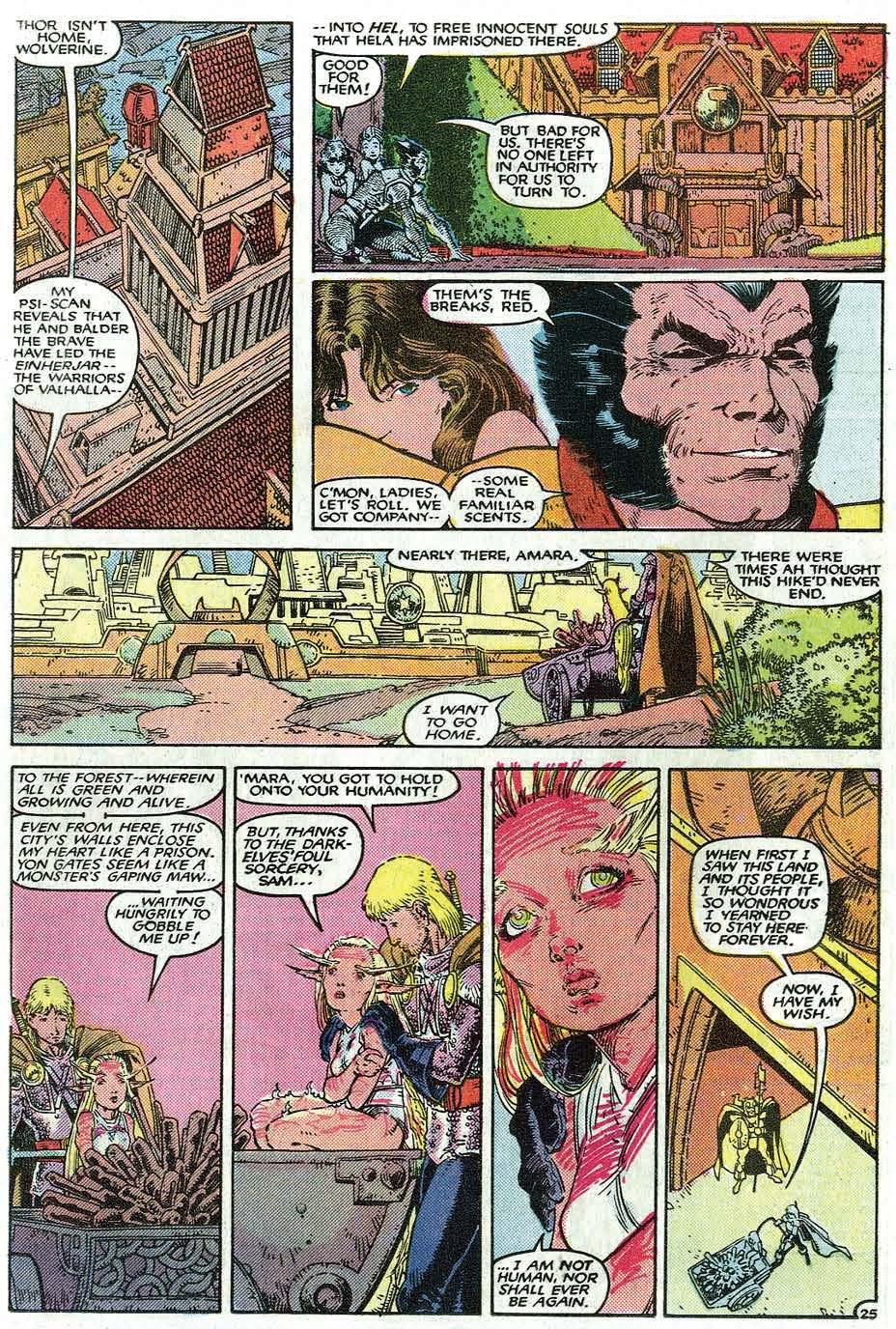 Read online Uncanny X-Men (1963) comic -  Issue # _Annual 9 - 27
