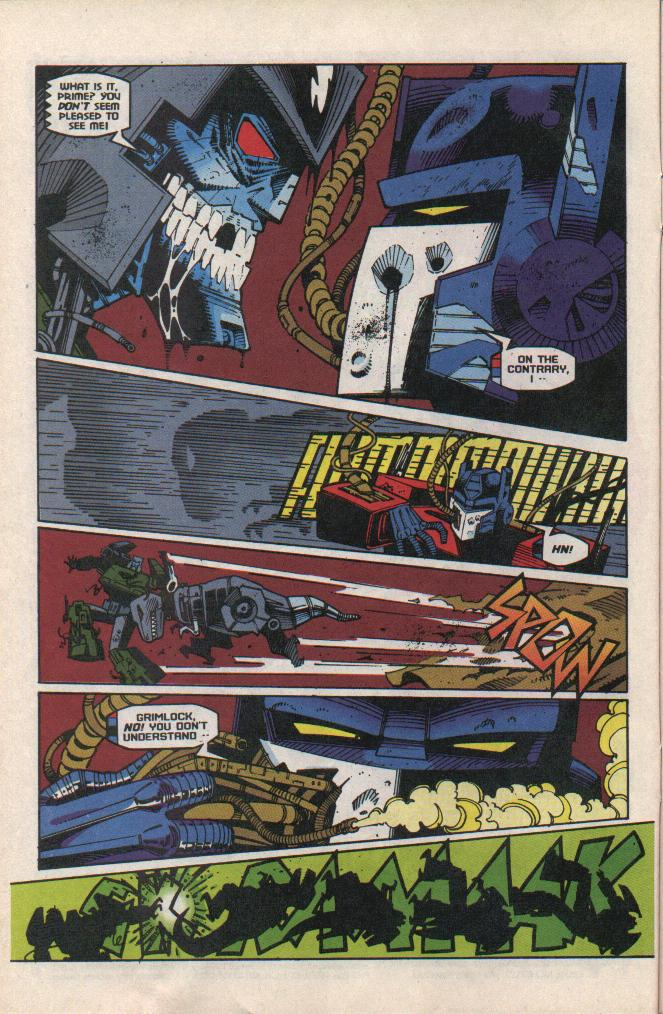 Read online Transformers: Generation 2 comic -  Issue #8 - 5