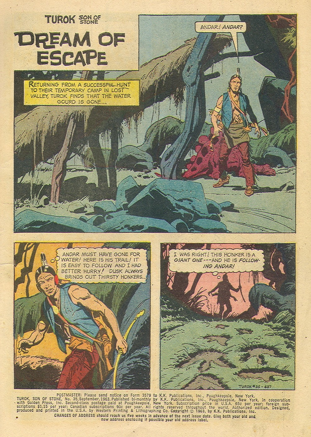 Read online Turok, Son of Stone comic -  Issue #35 - 3
