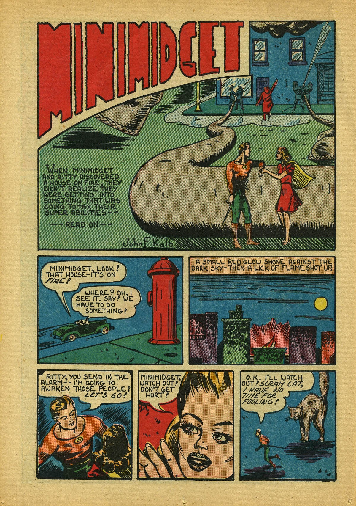 Read online Amazing Man Comics comic -  Issue #22 - 25