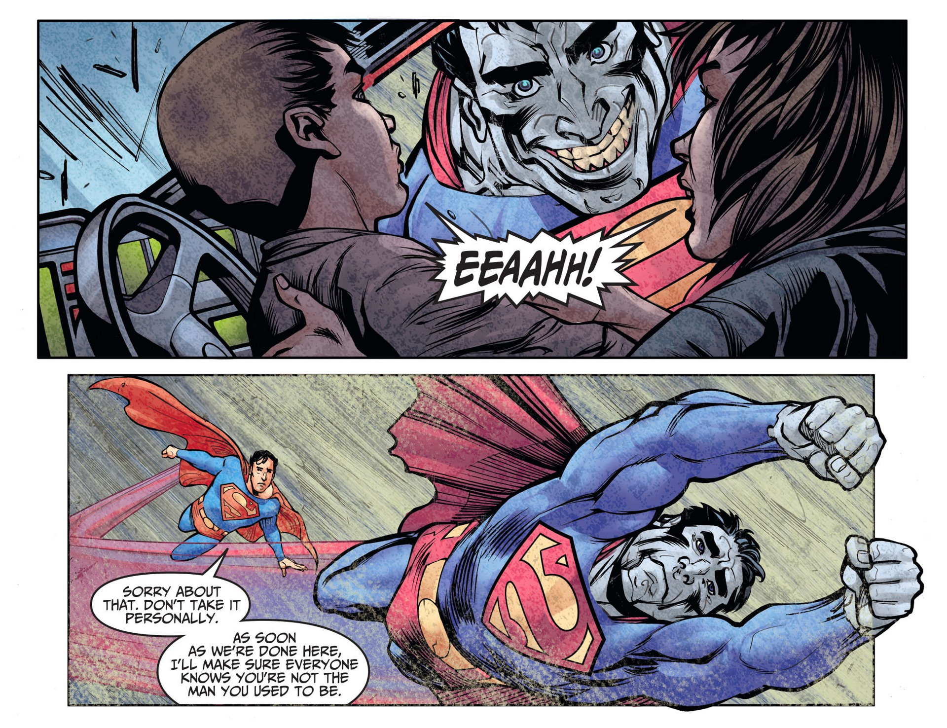 Read online Adventures of Superman [I] comic -  Issue #26 - 10