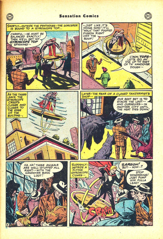Read online Sensation (Mystery) Comics comic -  Issue #81 - 27