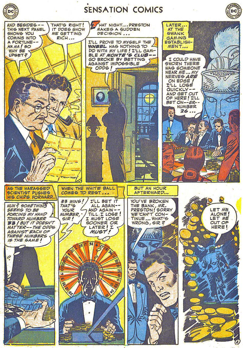 Read online Sensation (Mystery) Comics comic -  Issue #108 - 6