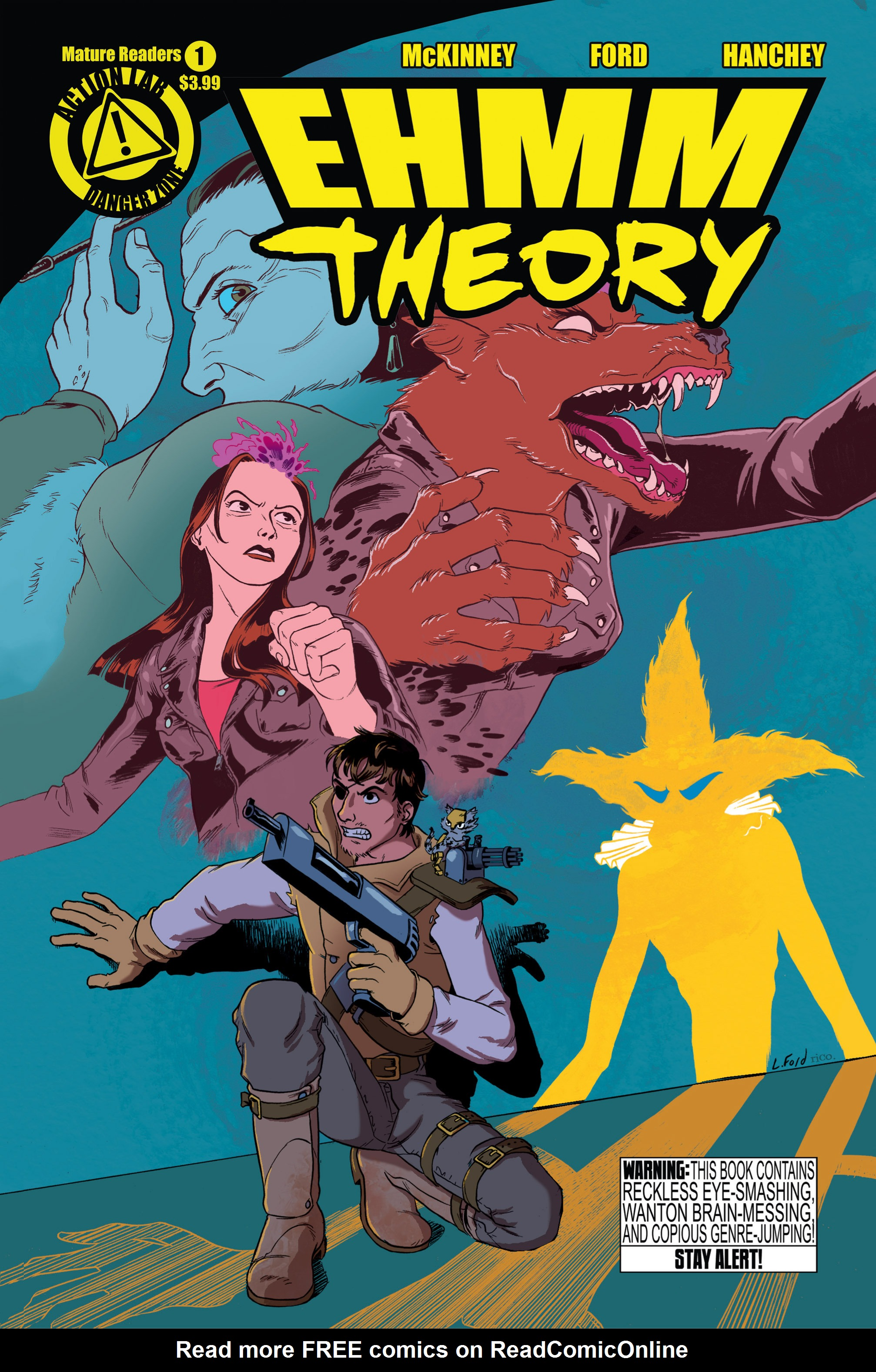 Read online Ehmm Theory: Everything & Small Doses comic -  Issue #1 - 1