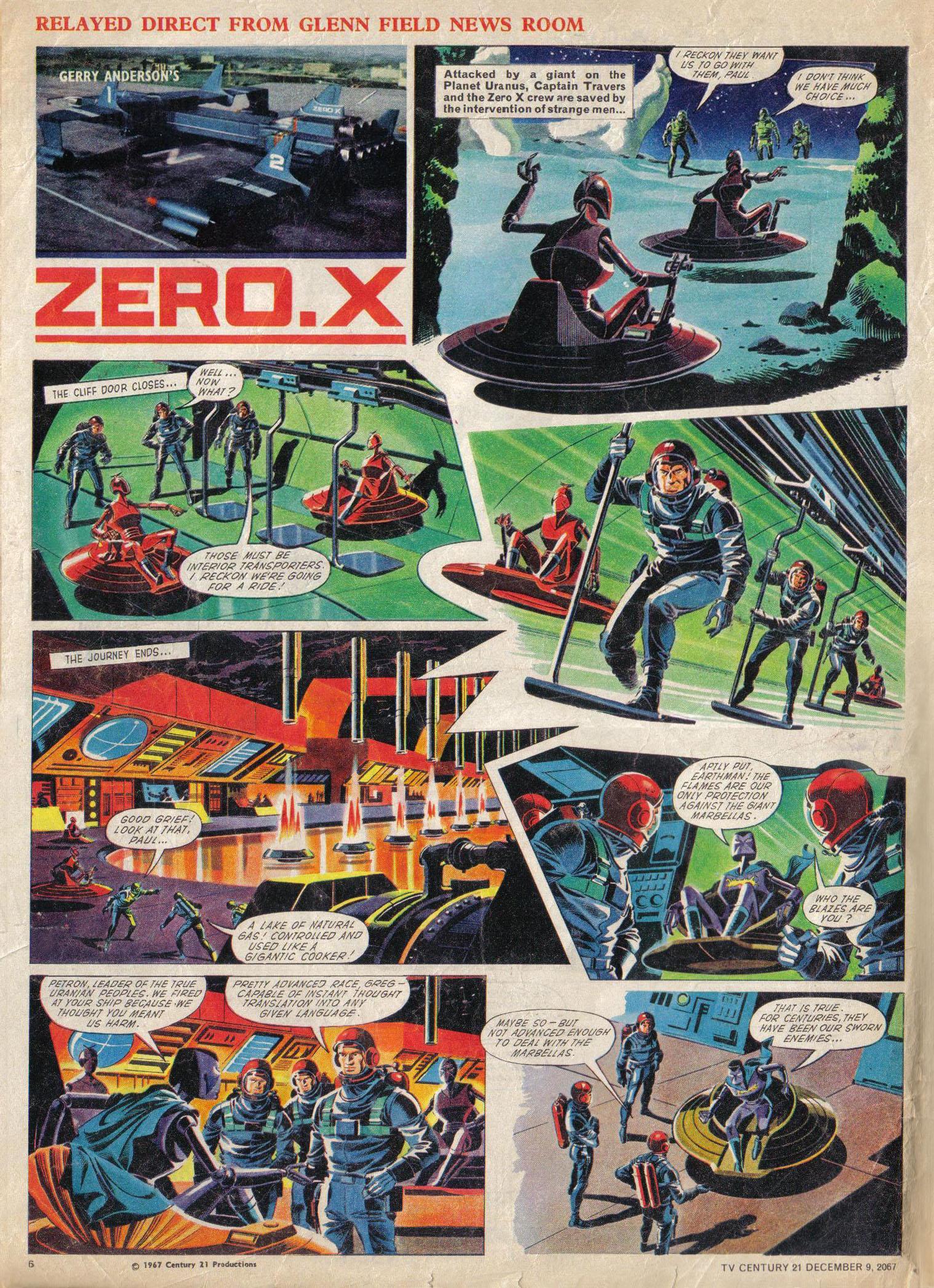 Read online TV Century 21 (TV 21) comic -  Issue #151 - 7