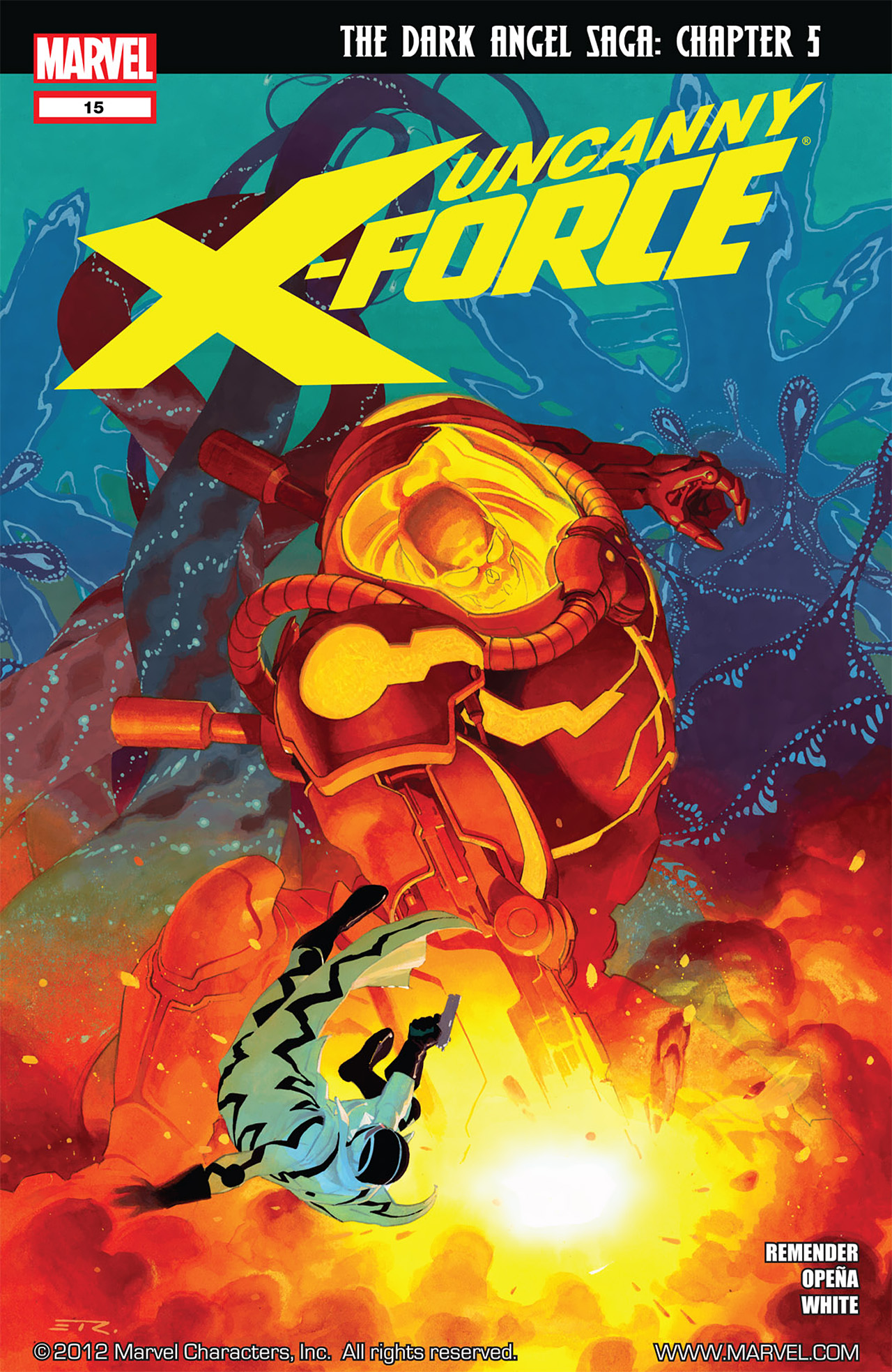 Read online Uncanny X-Force (2010) comic -  Issue #15 - 1